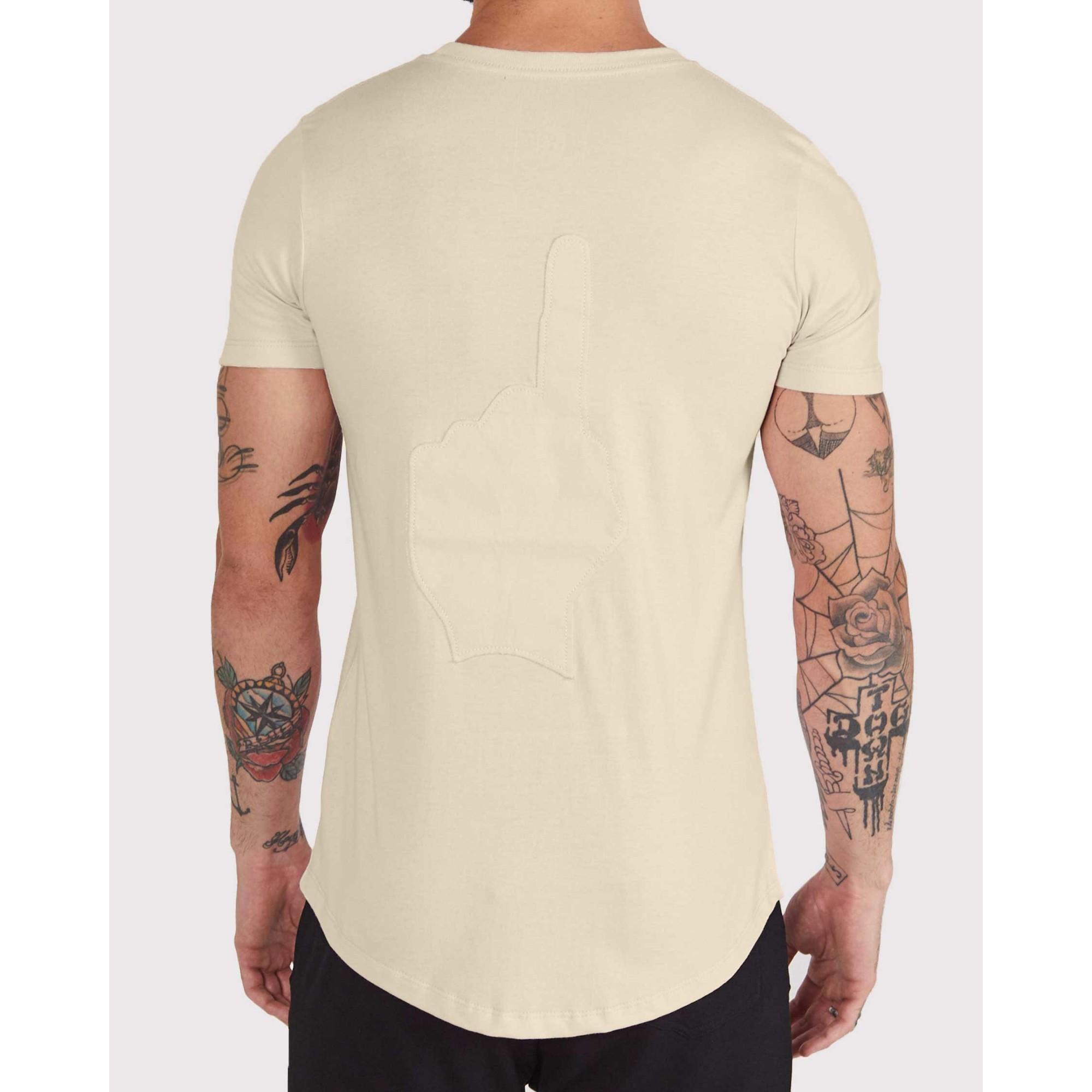 Camiseta Buh Costura Costas Yellow