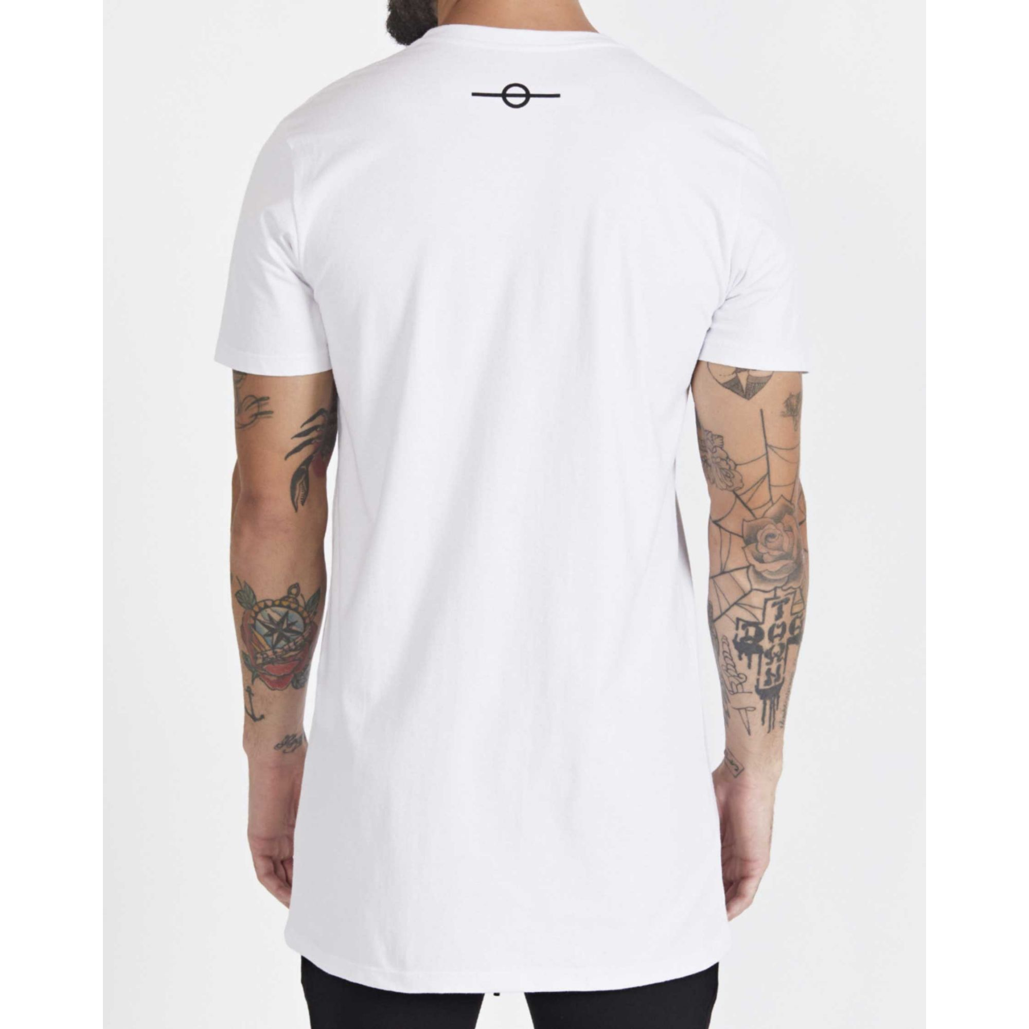 Camiseta Buh Cotton Plaquinha White