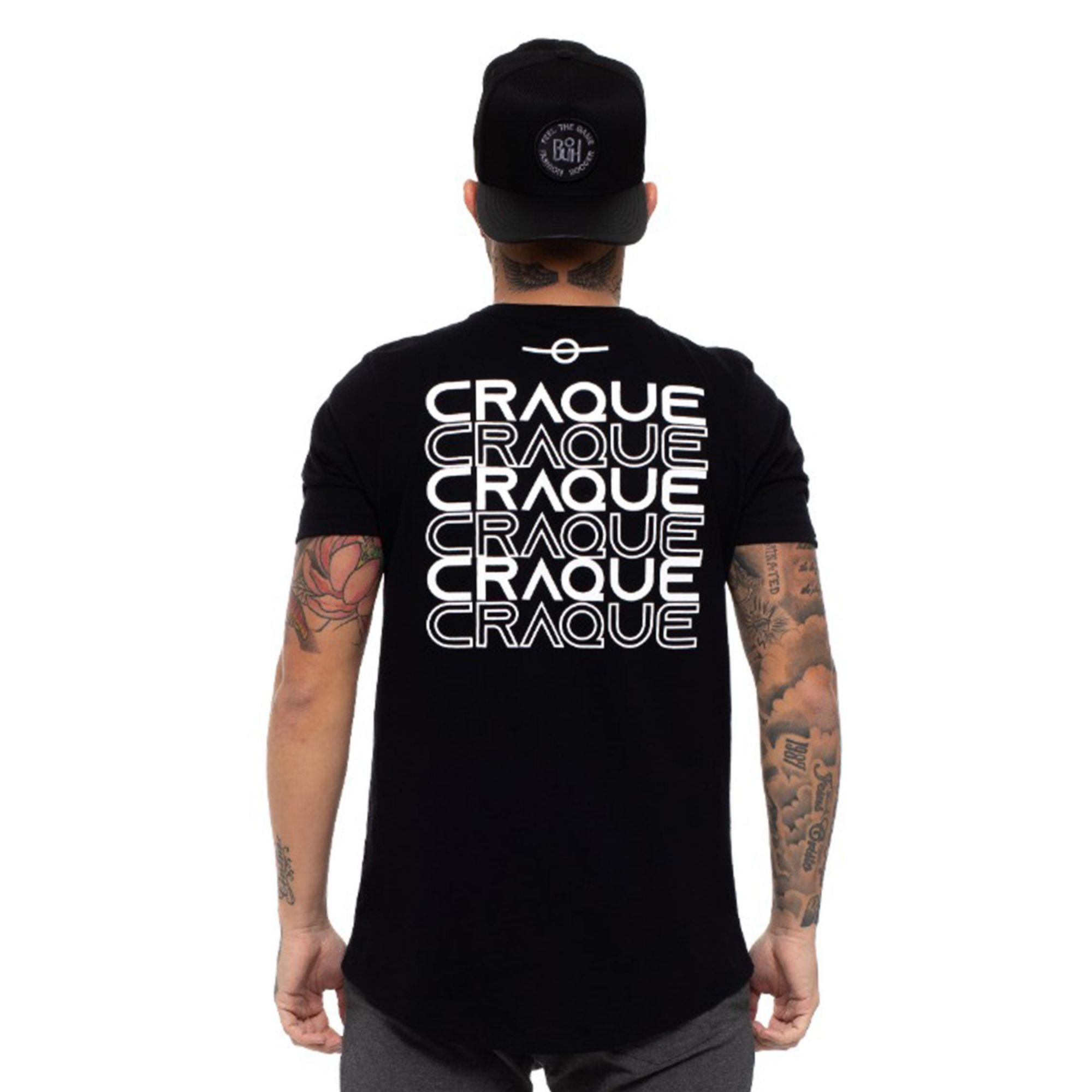Camiseta Buh Craque Black