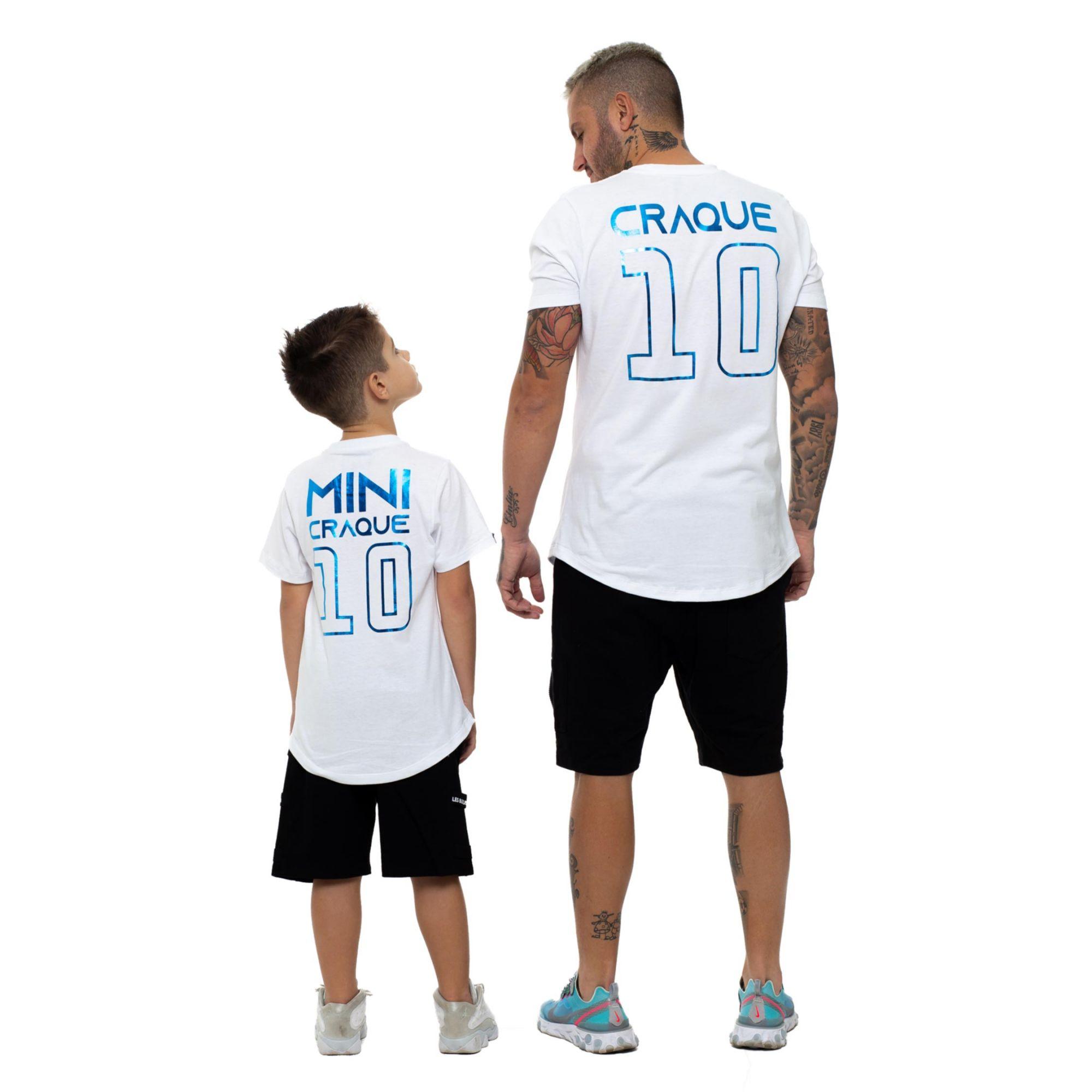 Camiseta Buh Craque e Mini Craque White