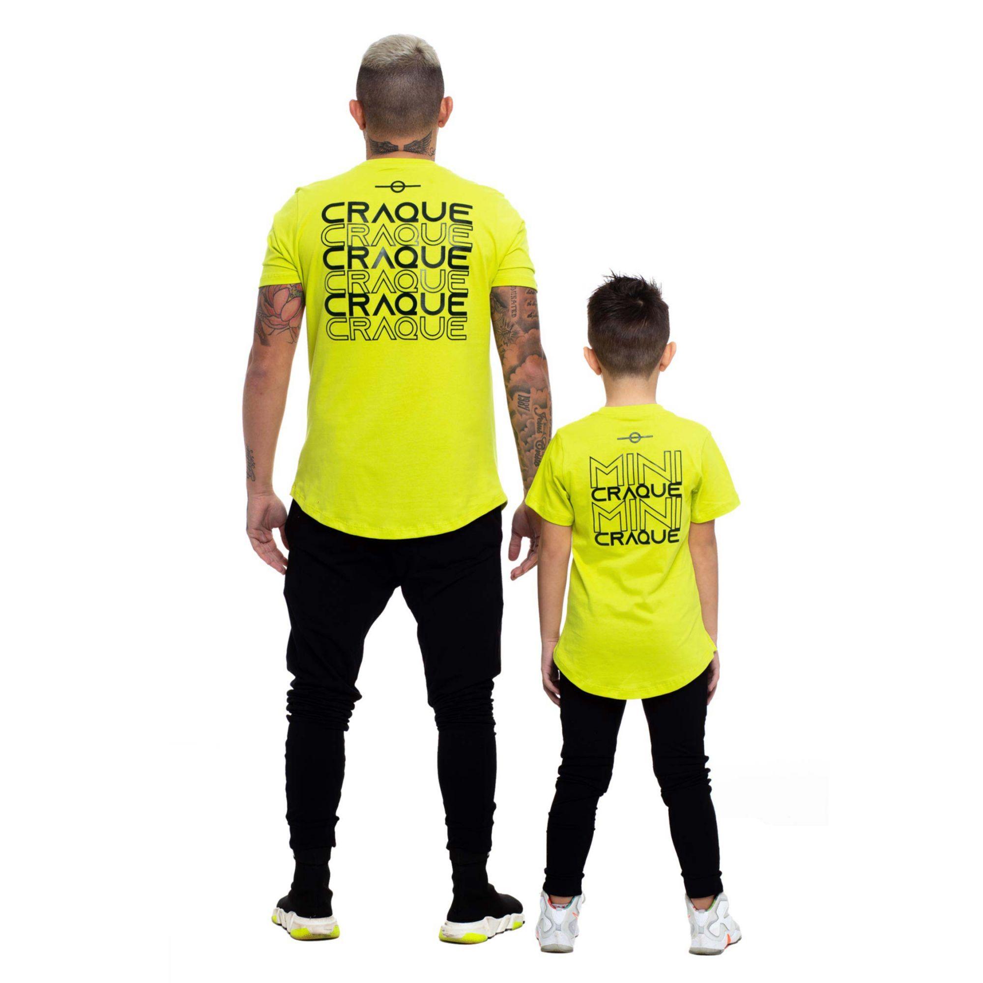 Camiseta Buh Craque Verde Limão