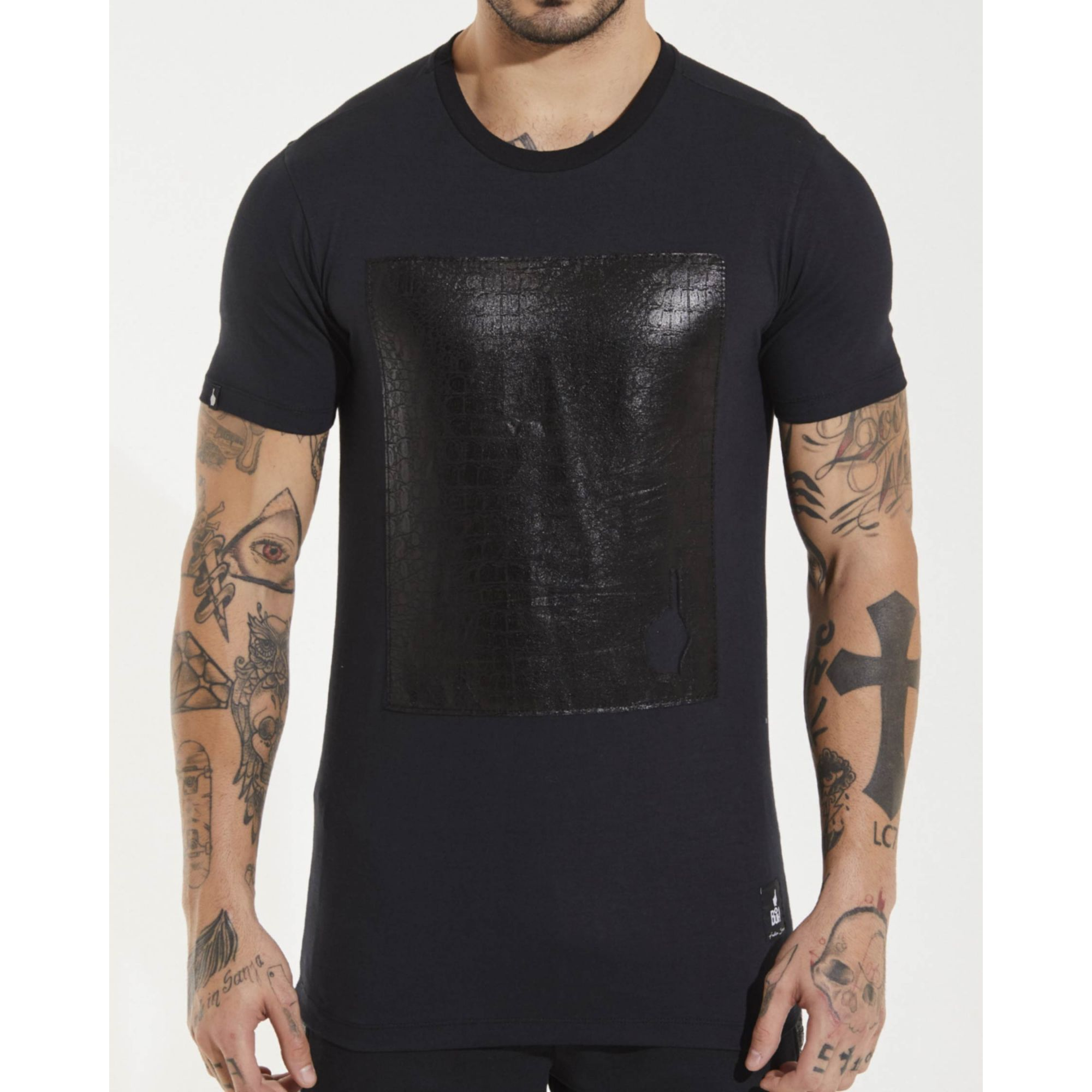 Camiseta Buh Croco Black