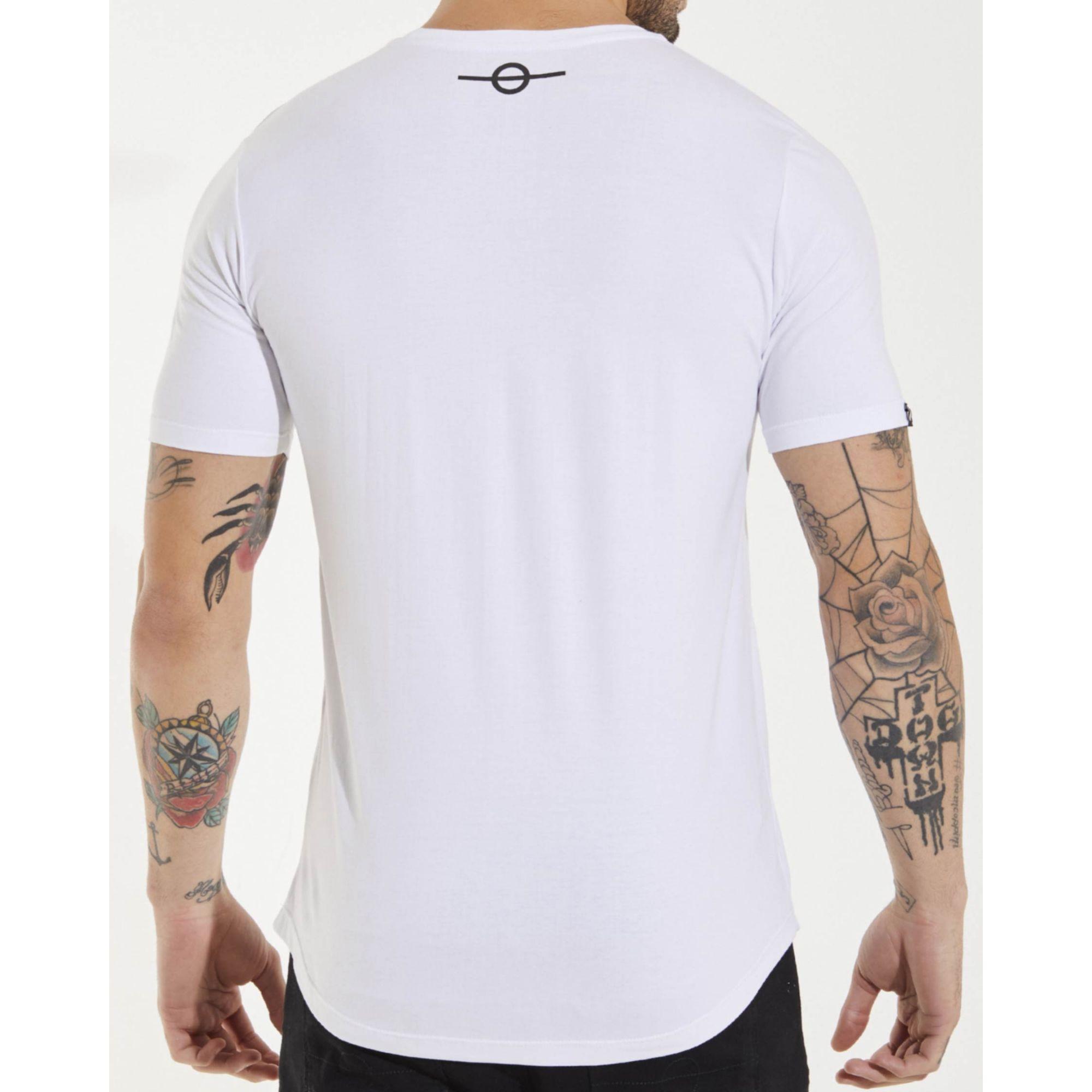 Camiseta Buh Dedo Vinil White