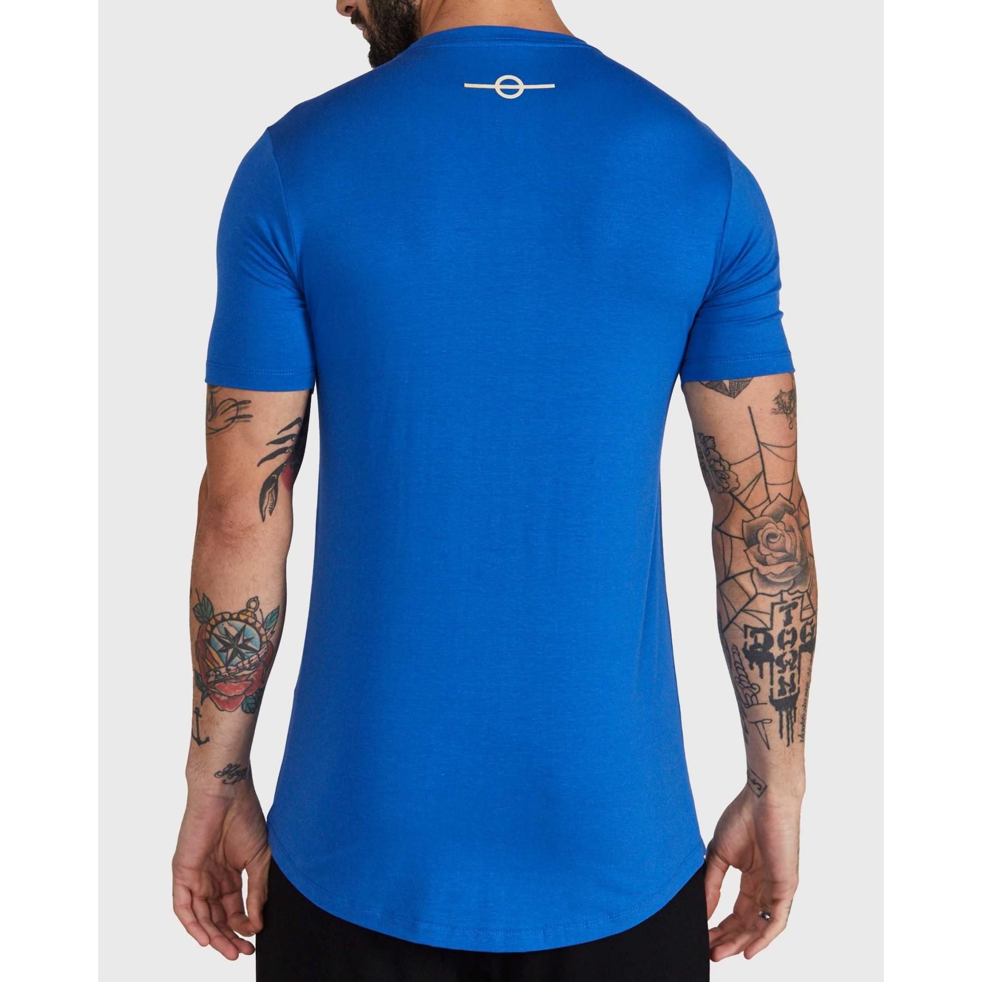 Camiseta Buh Double Blue