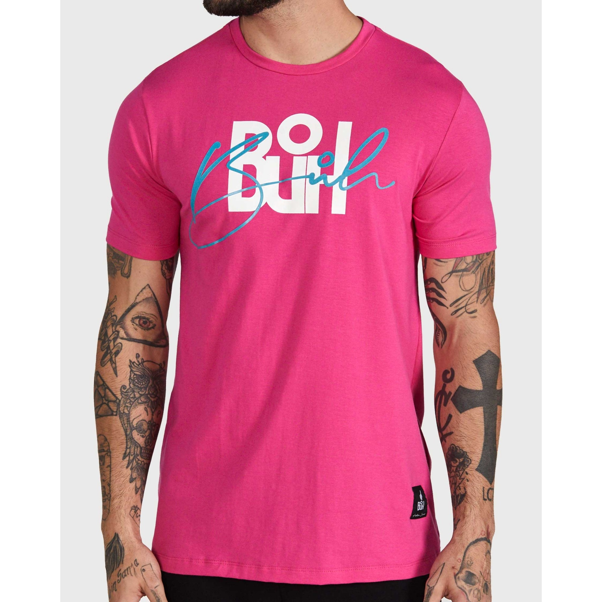 Camiseta Buh Double Rose