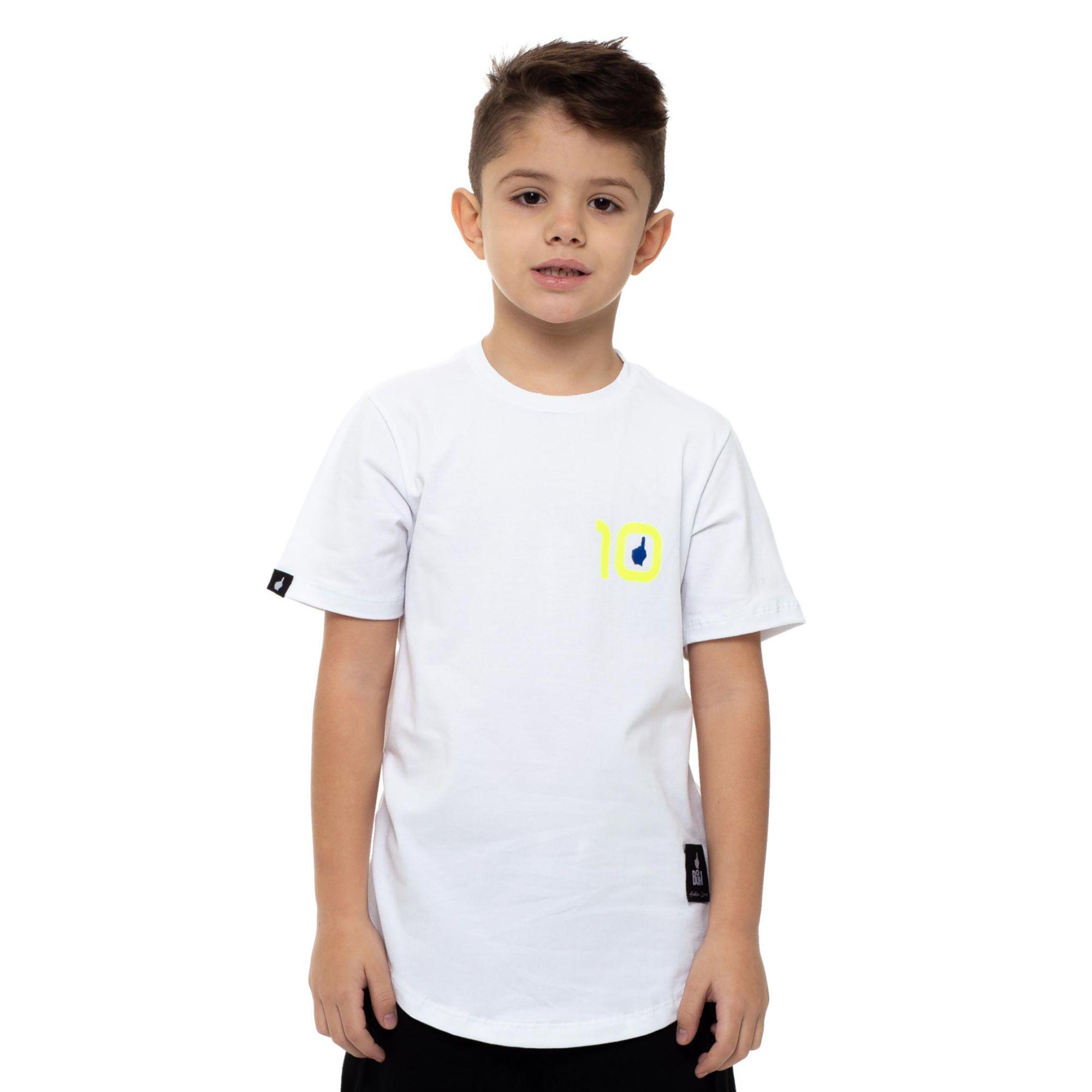 Camiseta Buh Dupla de Ataque White