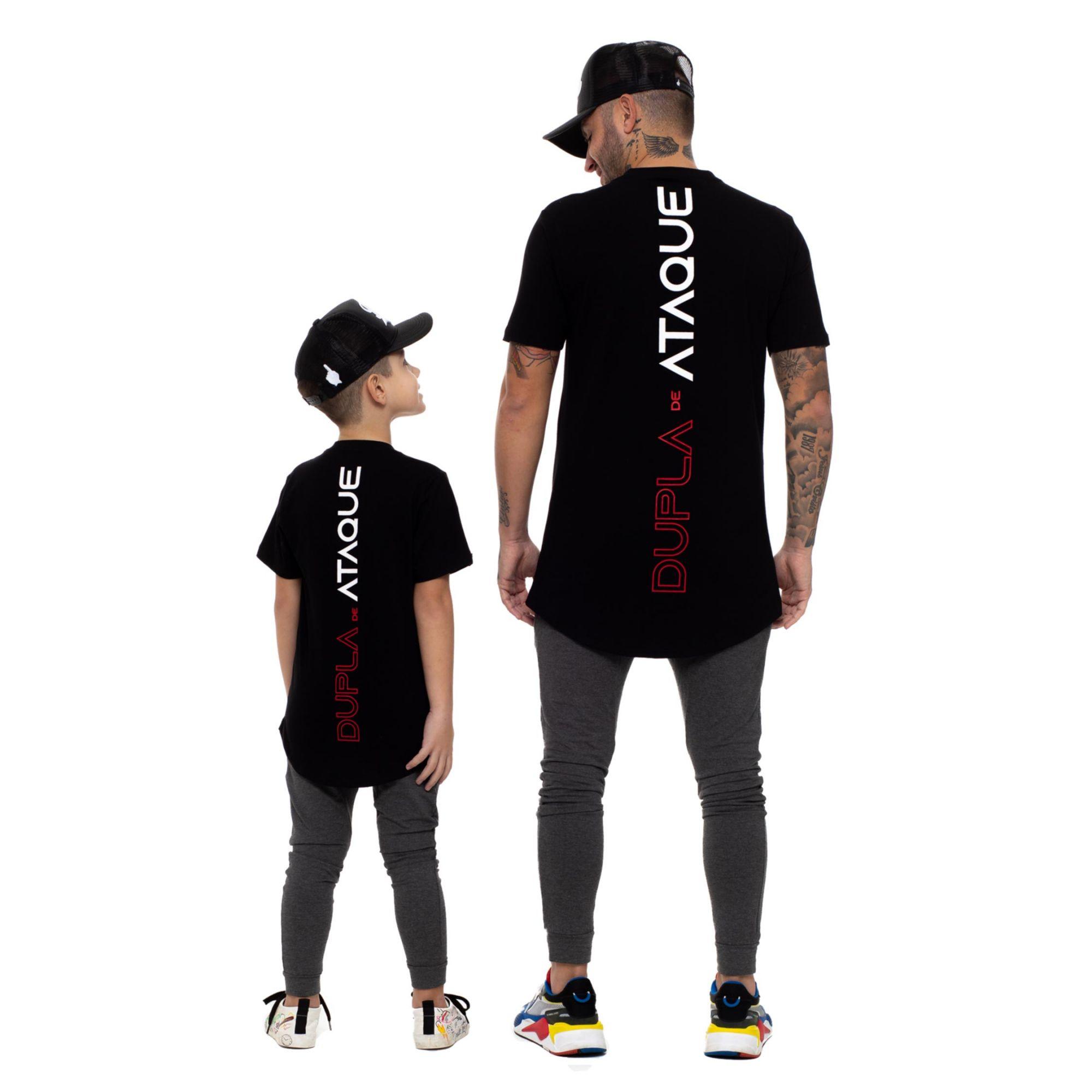 Camiseta Buh Dupla de Craque Black