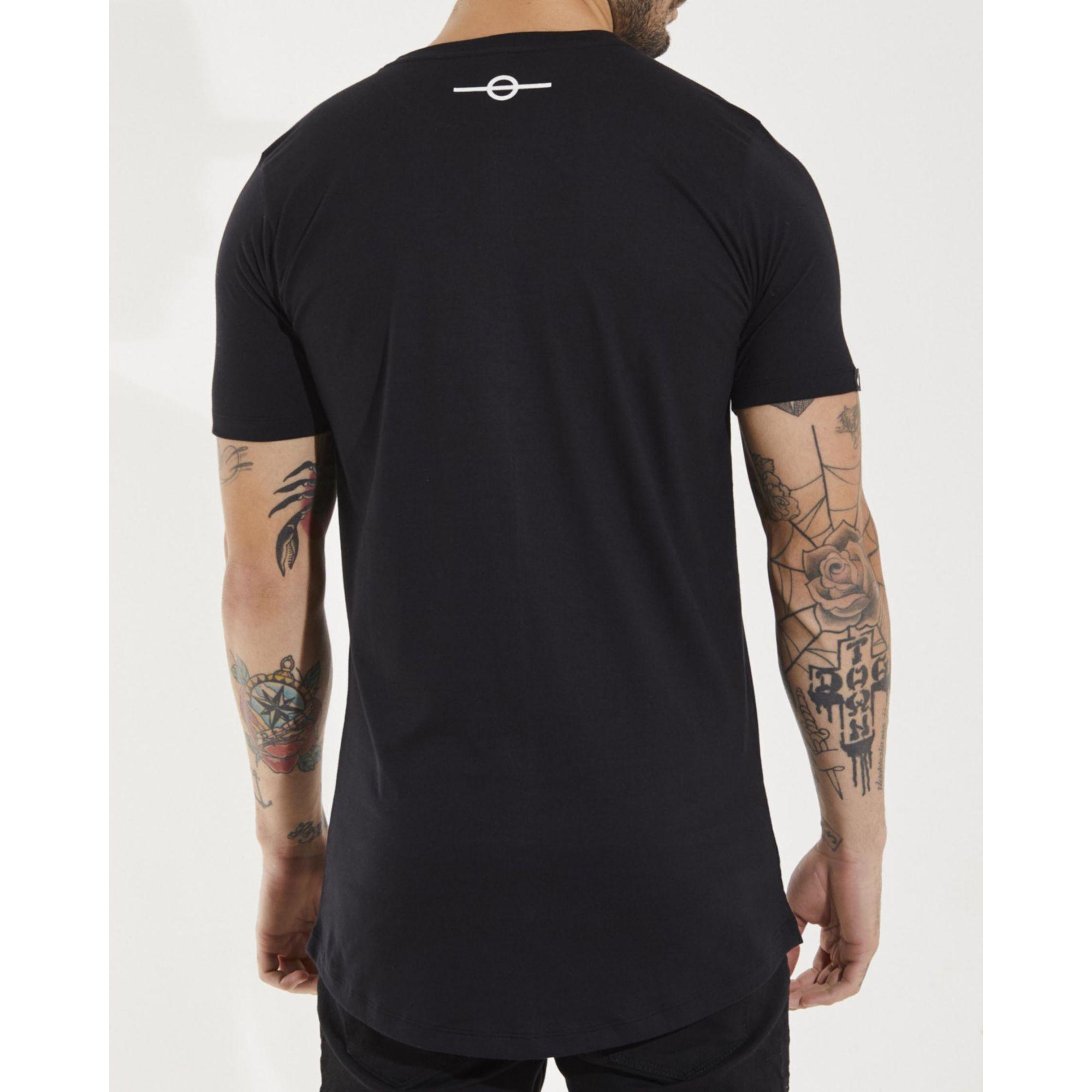 Camiseta Buh Earth Basic Black