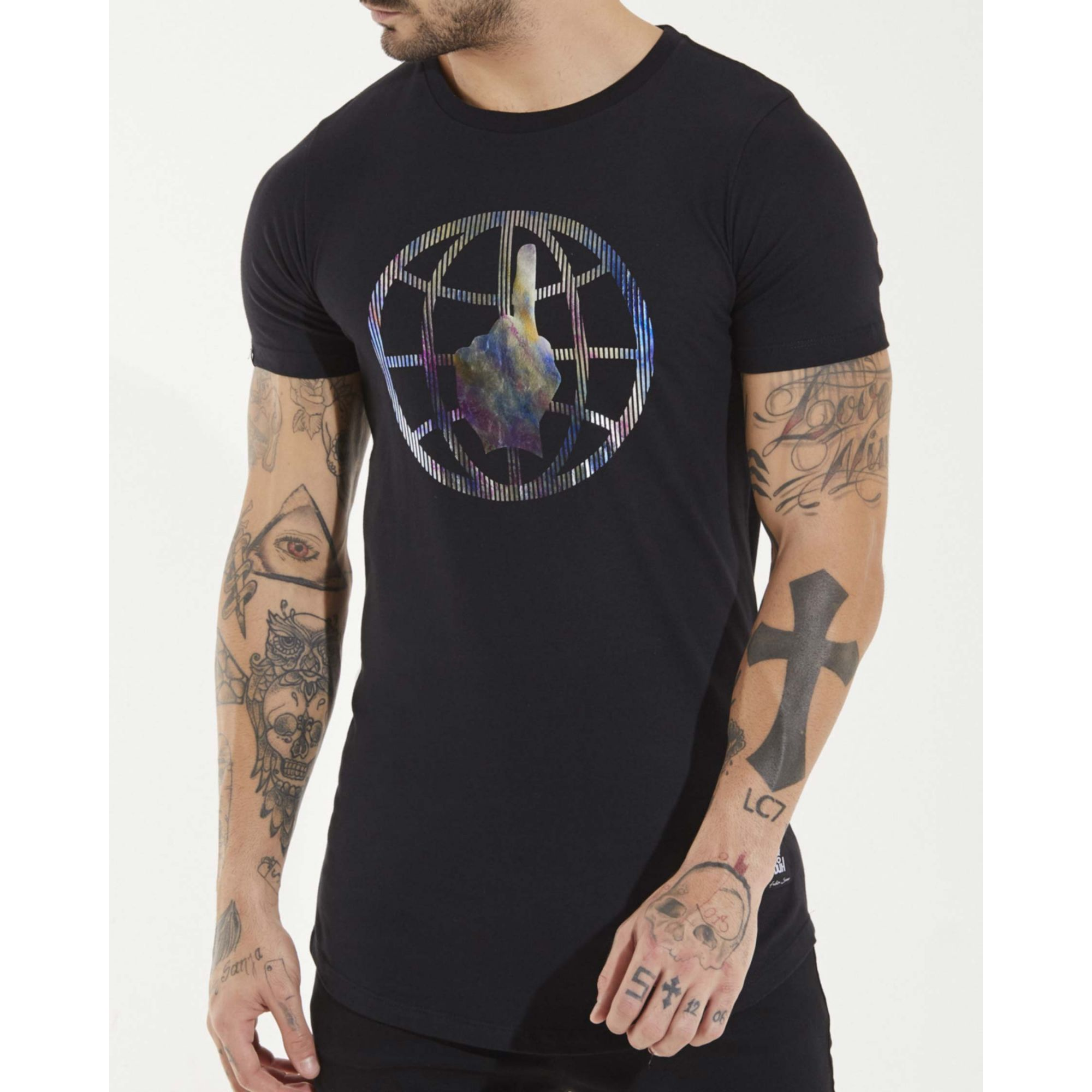 Camiseta Buh Earth Black