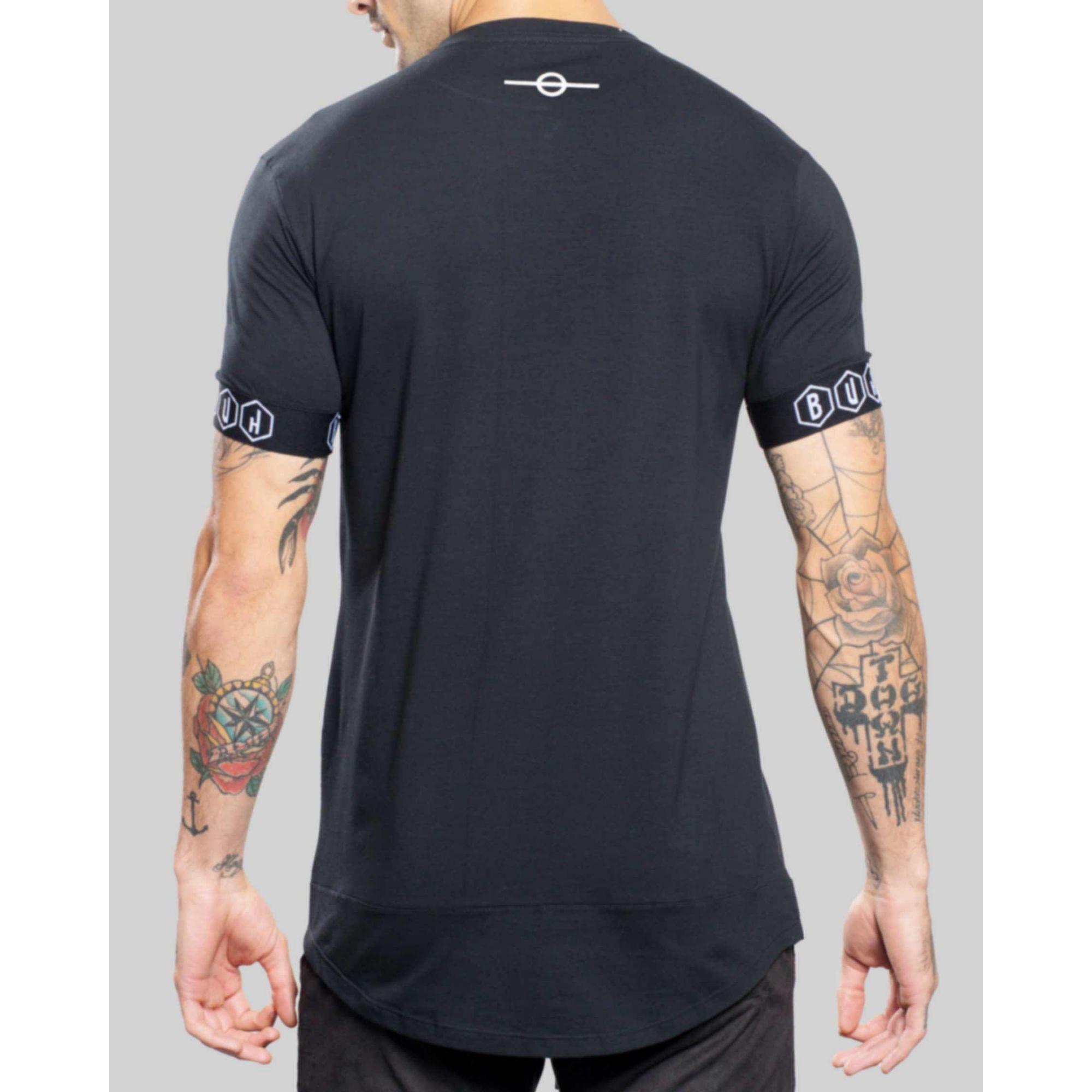Camiseta Buh Elástico Black