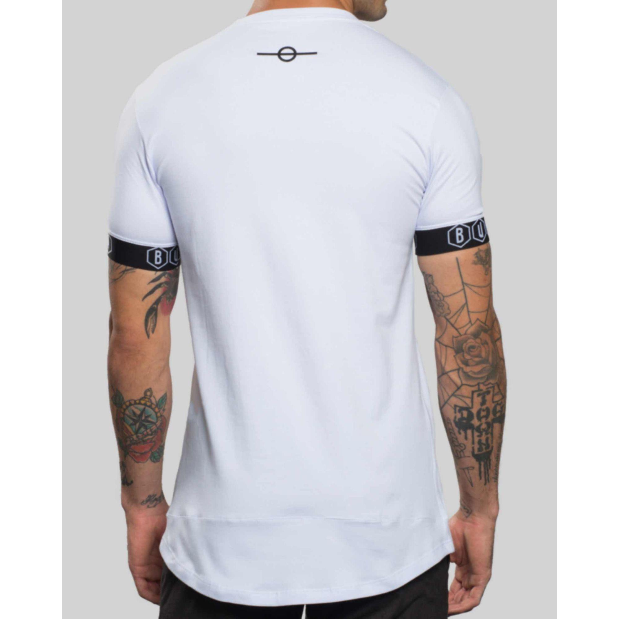 Camiseta Buh Elástico White