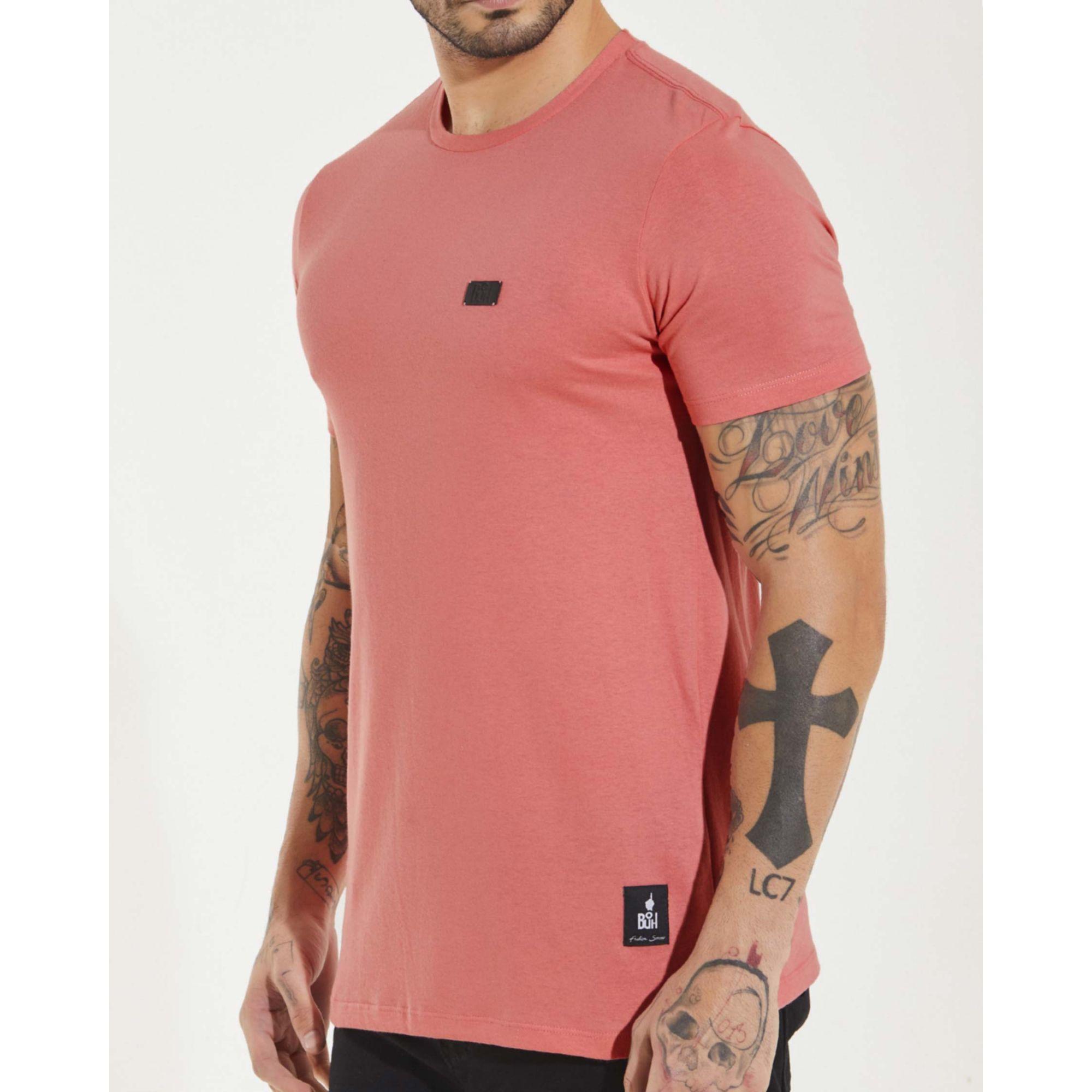 Camiseta Buh Elementos Costas Rose