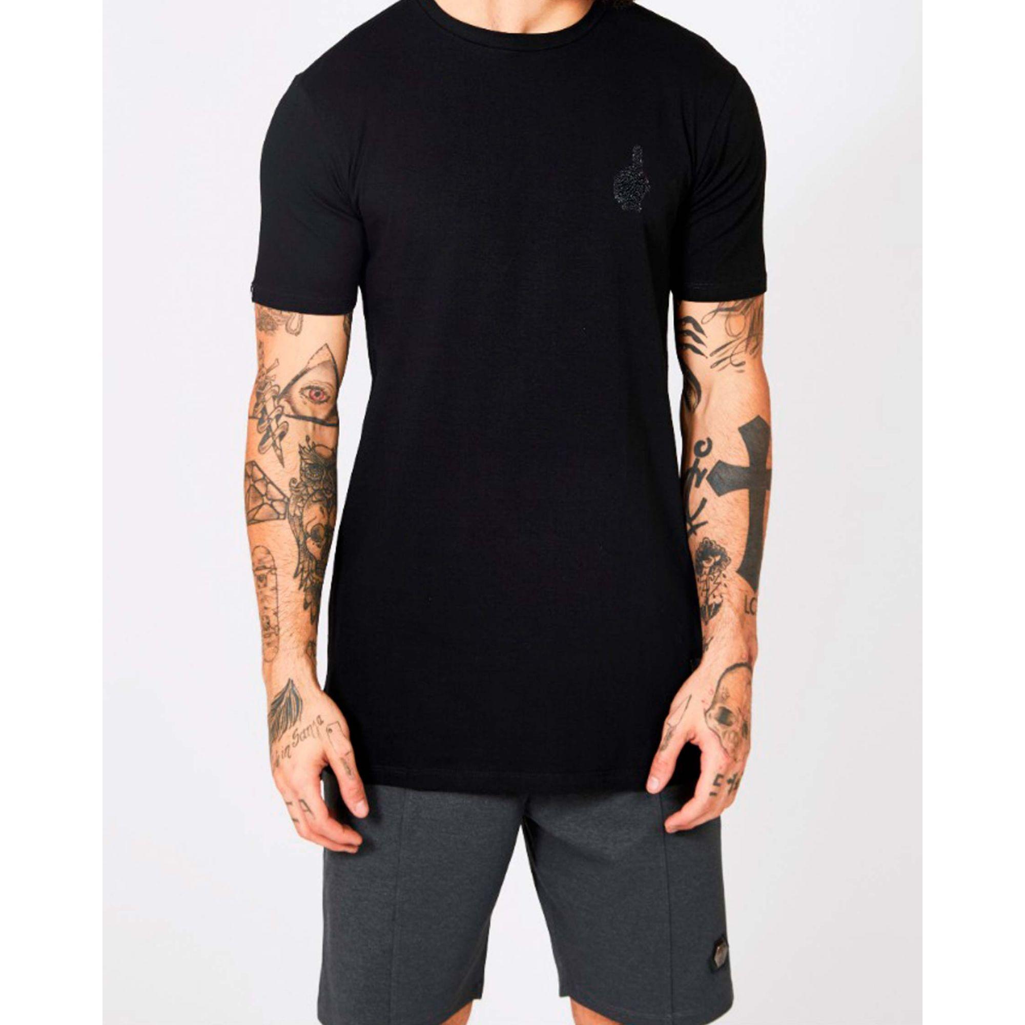 Camiseta Buh Esferas Dedo Black
