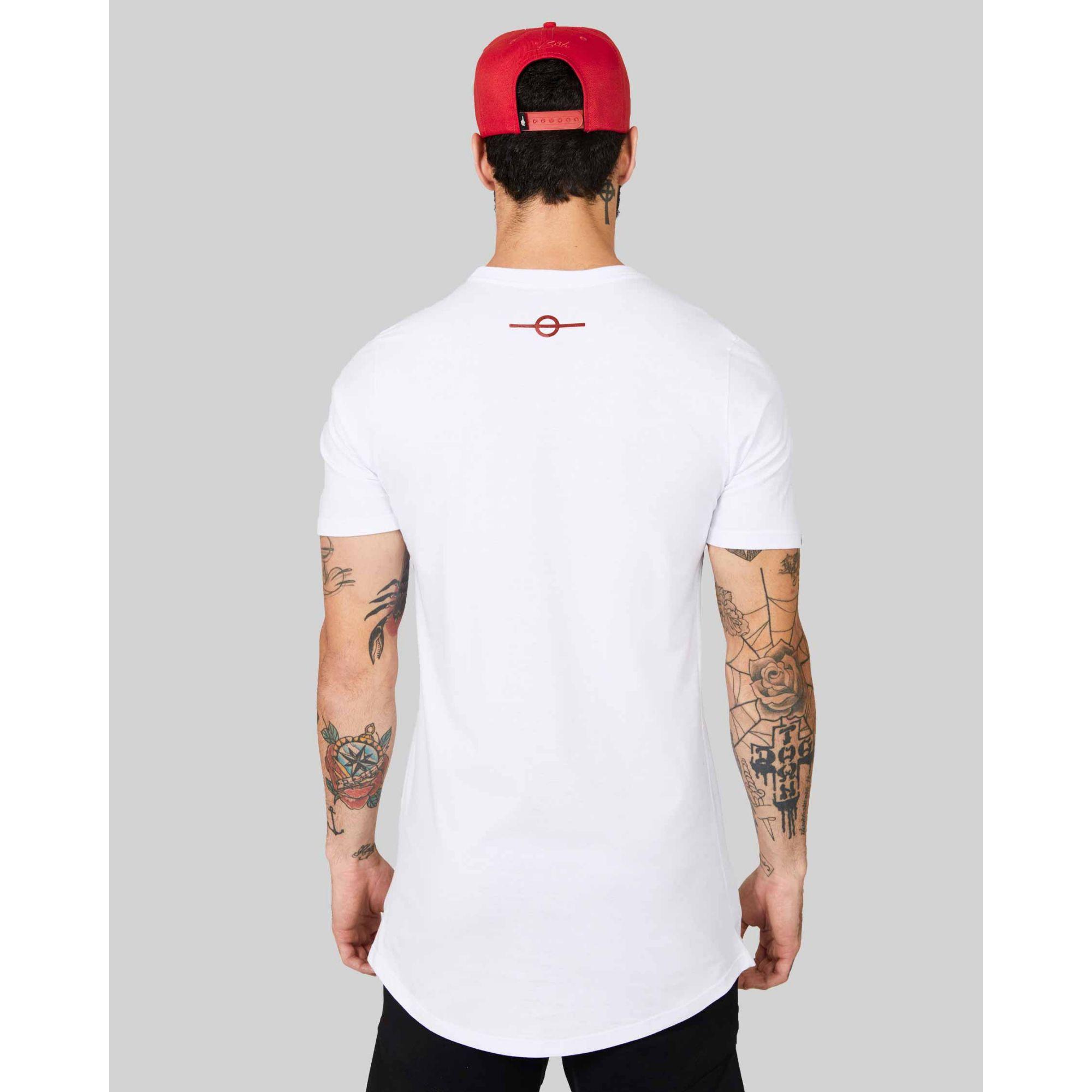 Camiseta Buh Espelhada White
