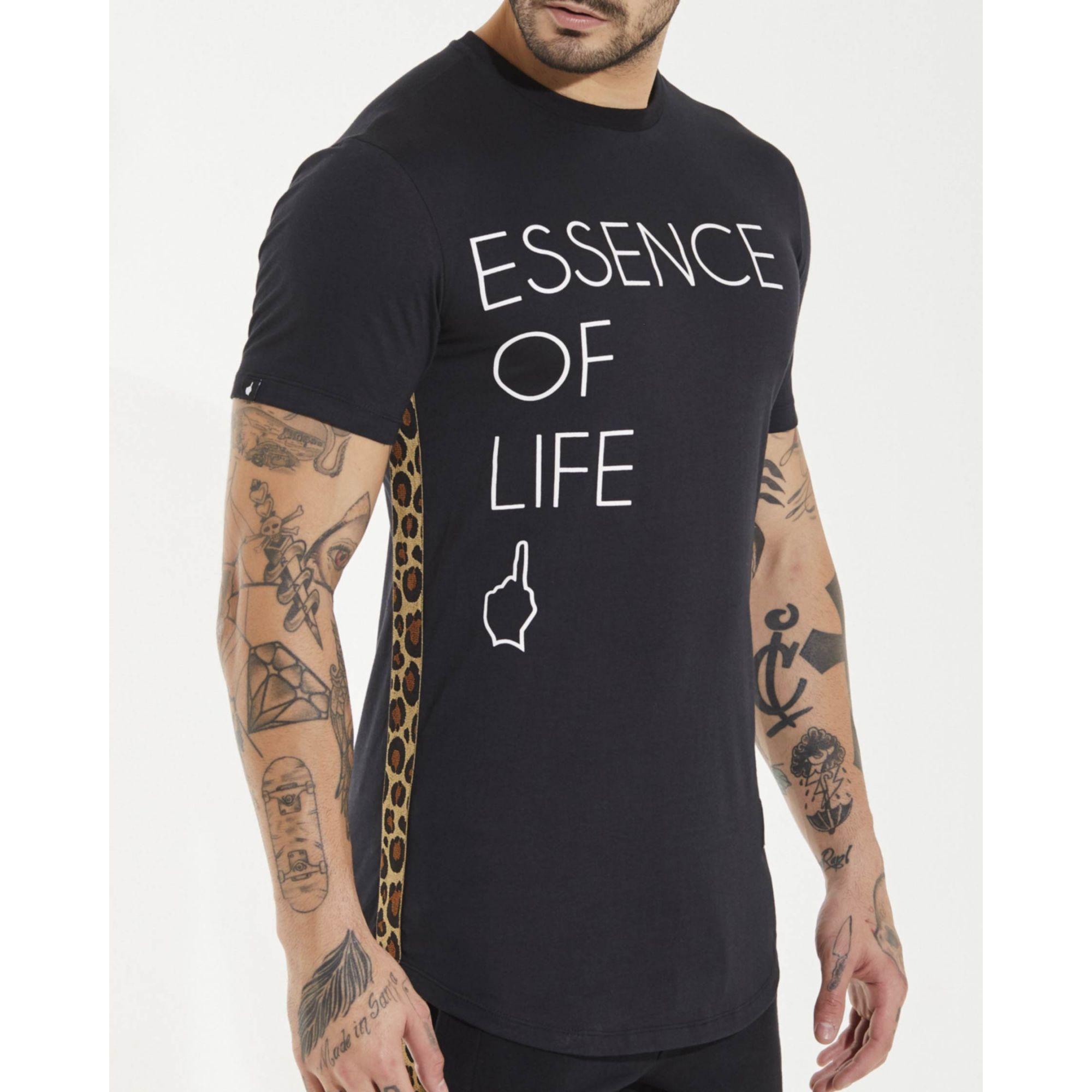 Camiseta Buh Essence Of Life Black