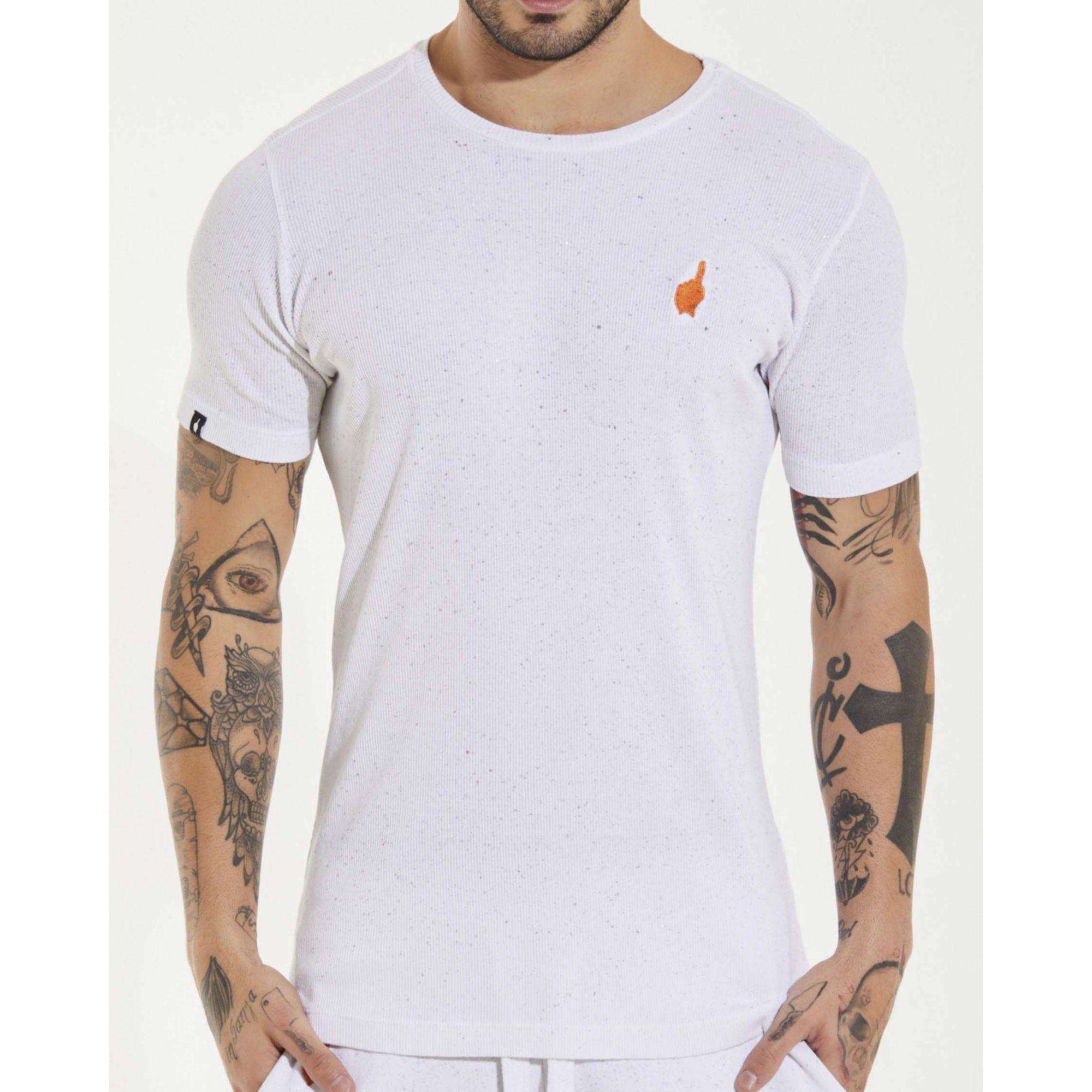 Camiseta Buh Explosão White