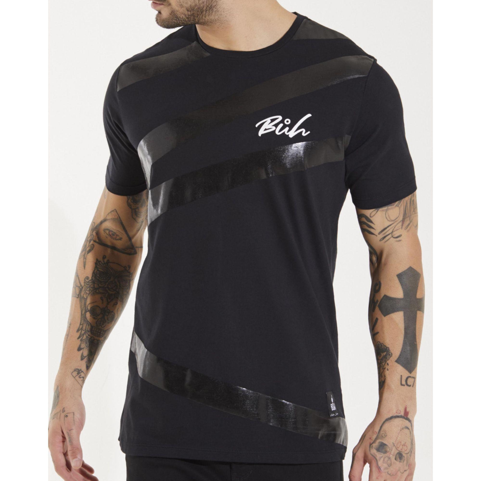 Camiseta Buh Faixa Black