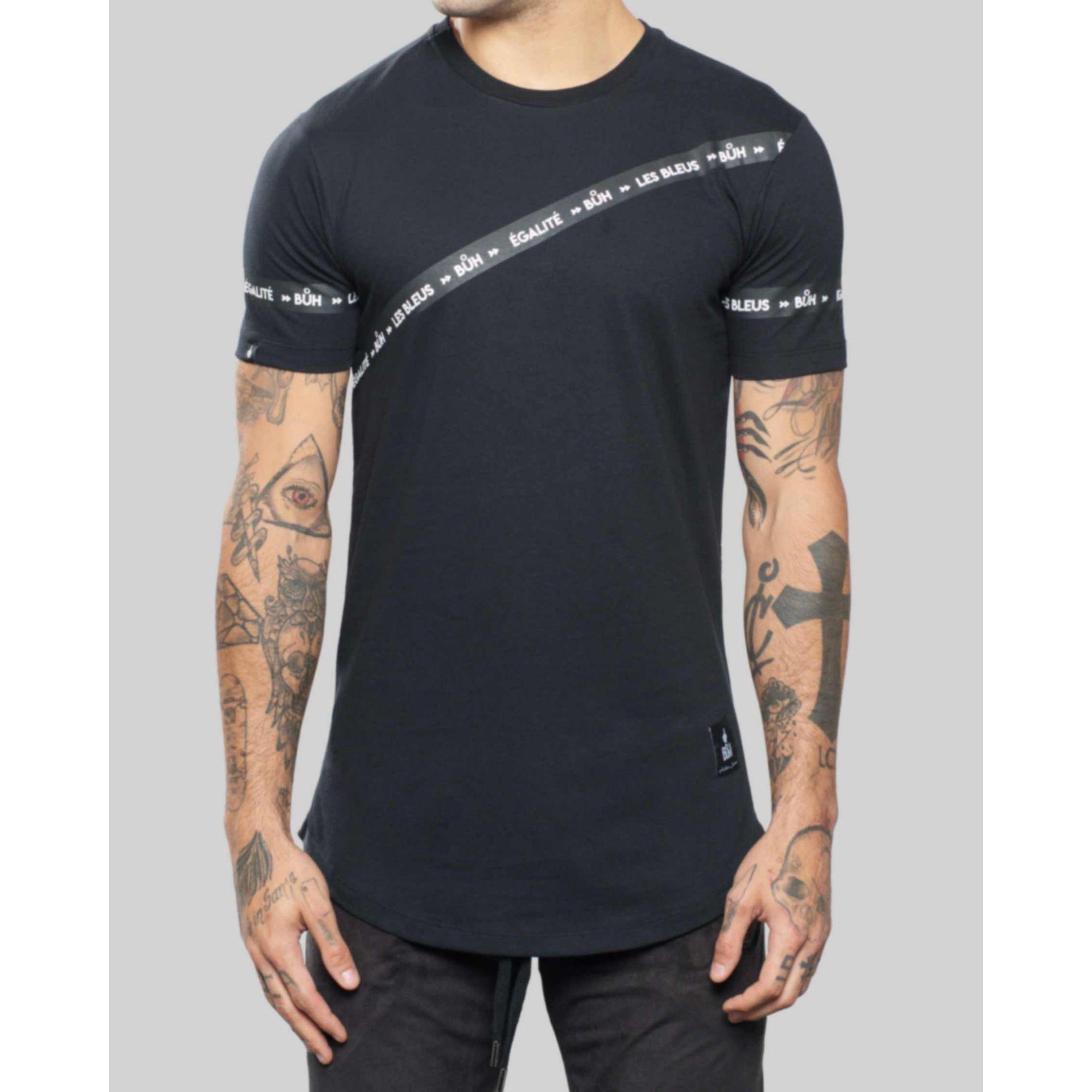 Camiseta Buh Faixa Egalité Black