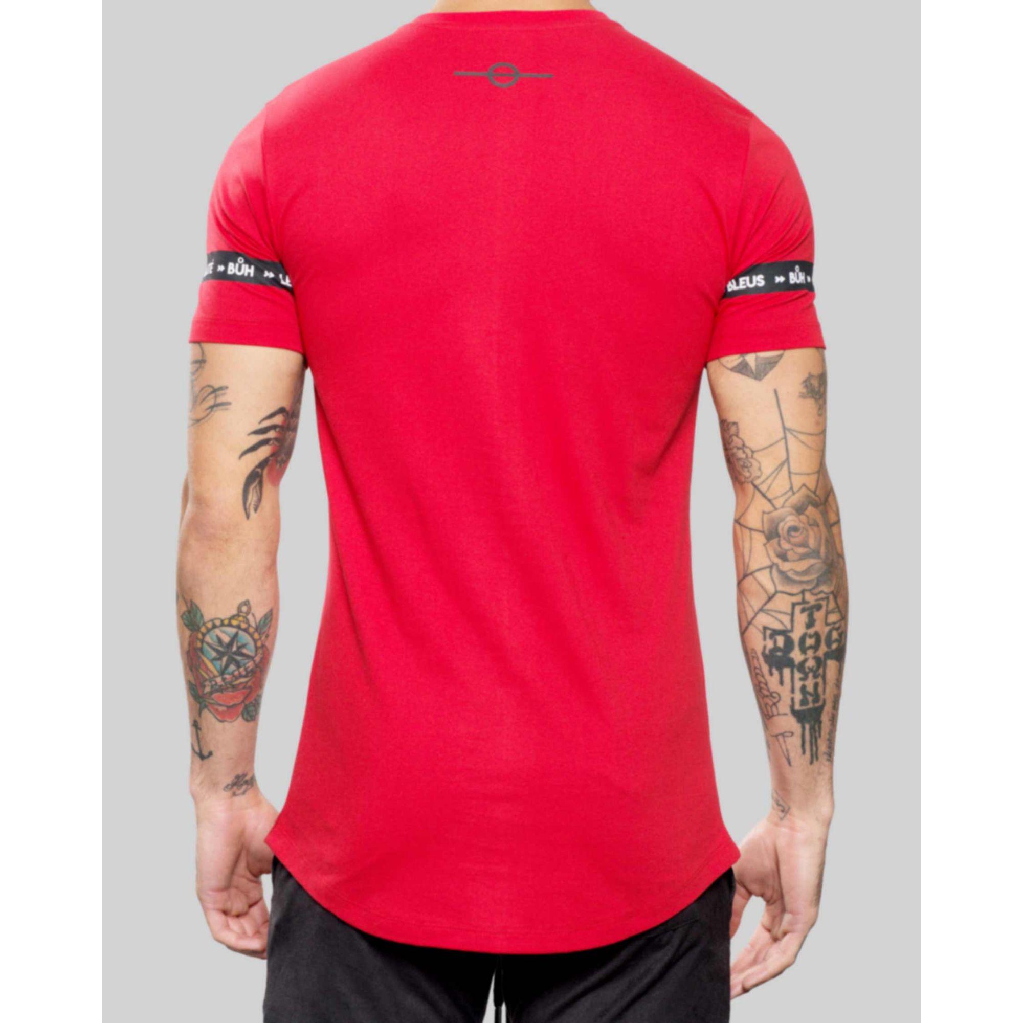 Camiseta Buh Faixa Egalité Red