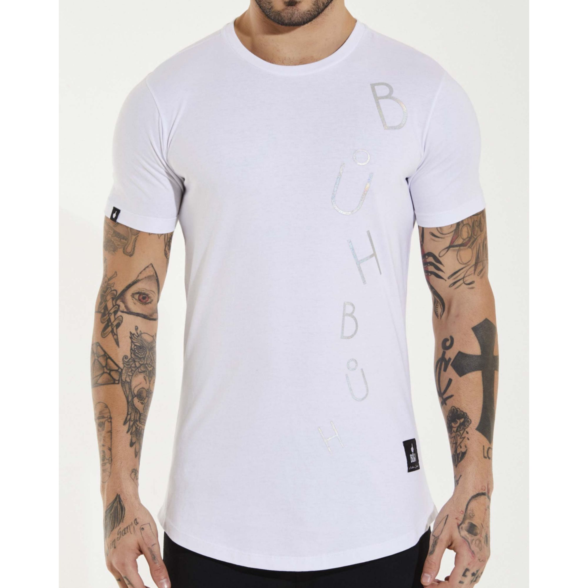 Camiseta Buh Fall White