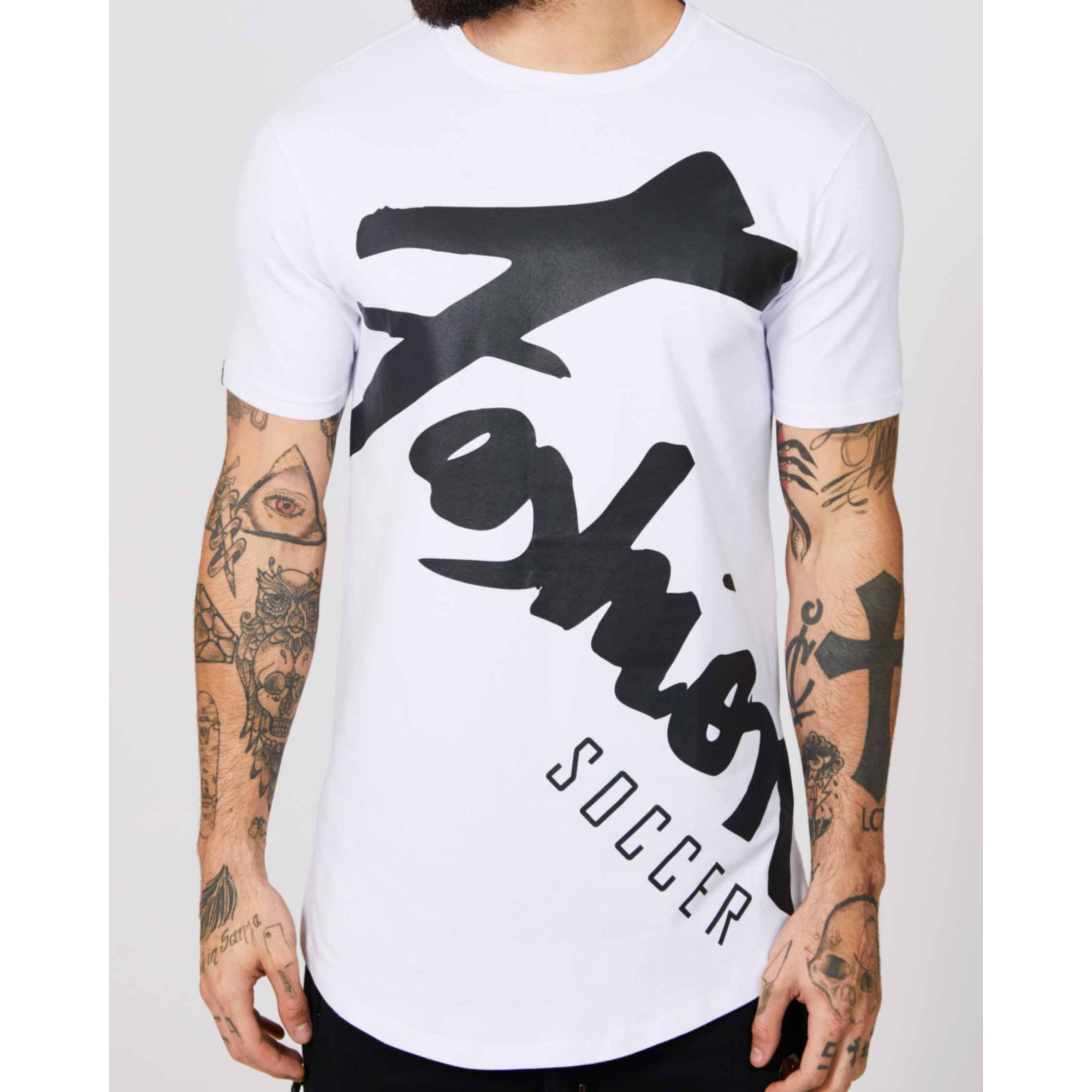Camiseta Buh Fashion Player White