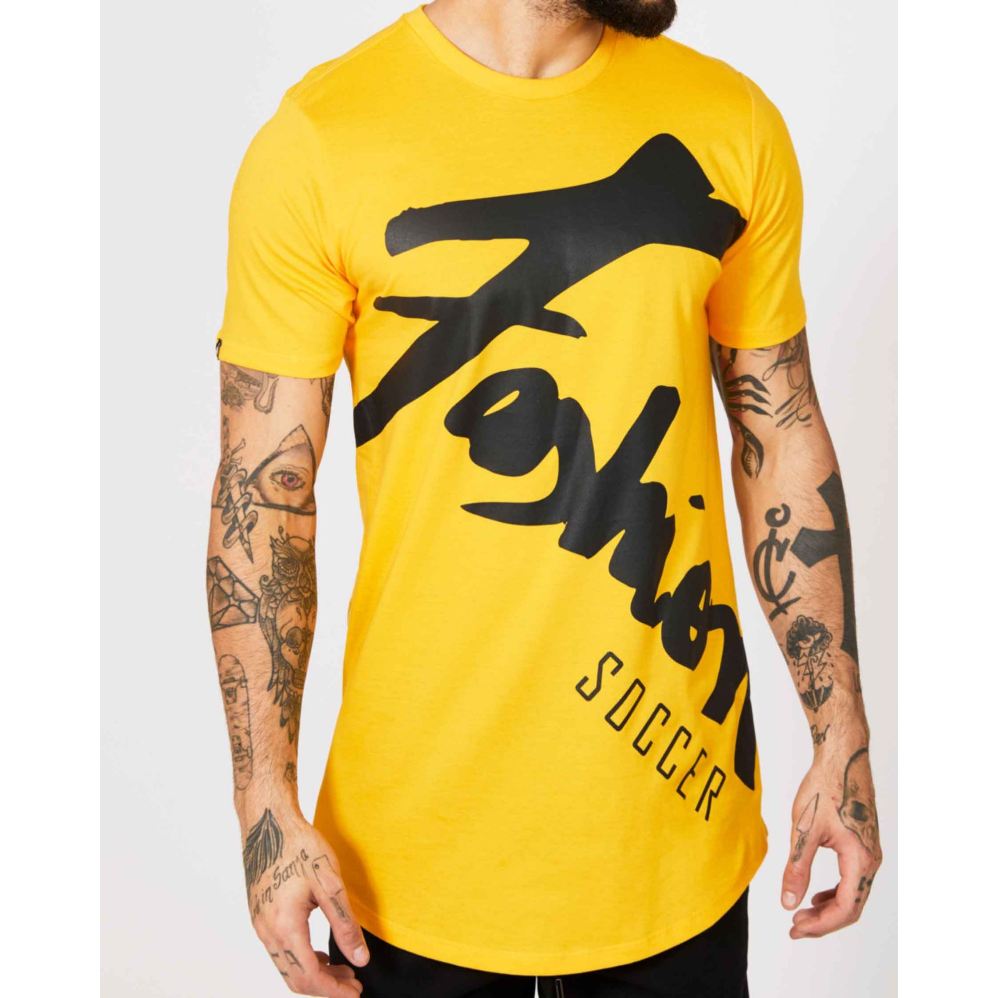 Camiseta Buh Fashion Player Yellow