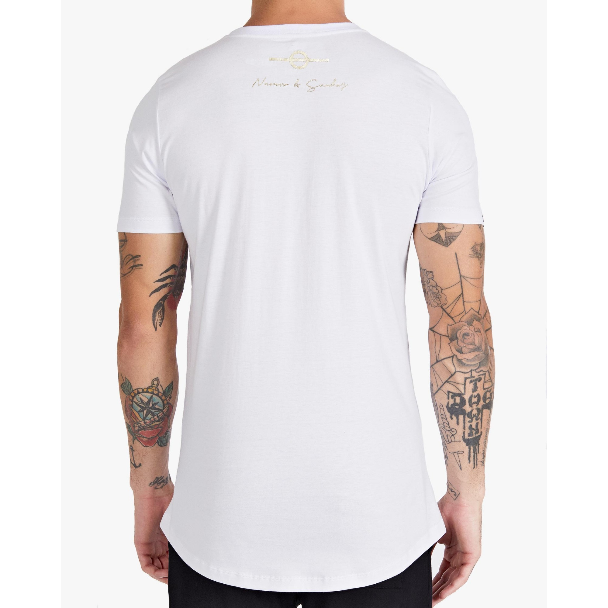 Camiseta Buh Fashion Soccer Penta White