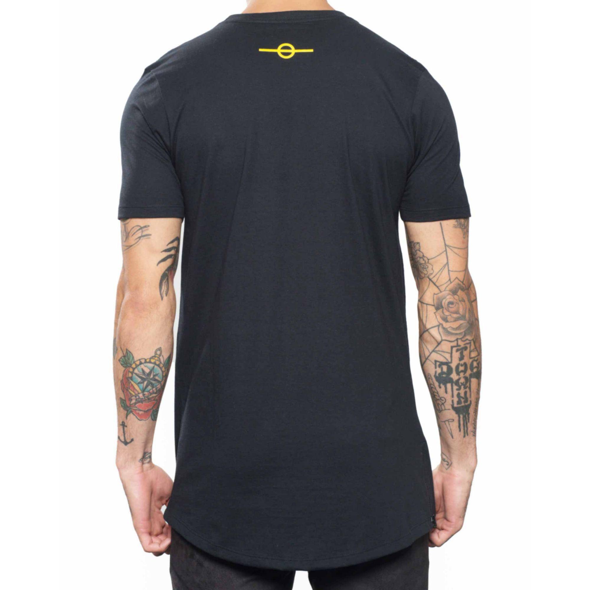 Camiseta Buh Fashion Soccer Zíper Black