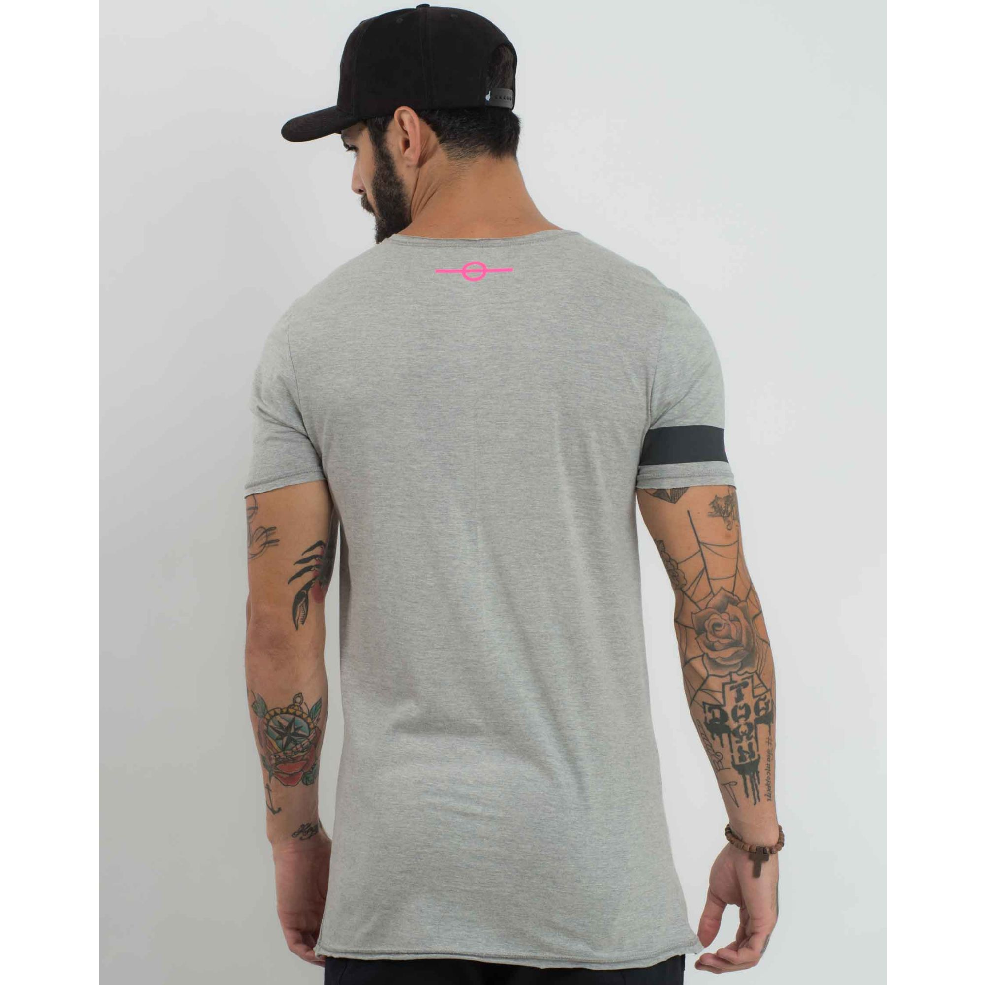 Camiseta Buh Feel The Game Finger Grey