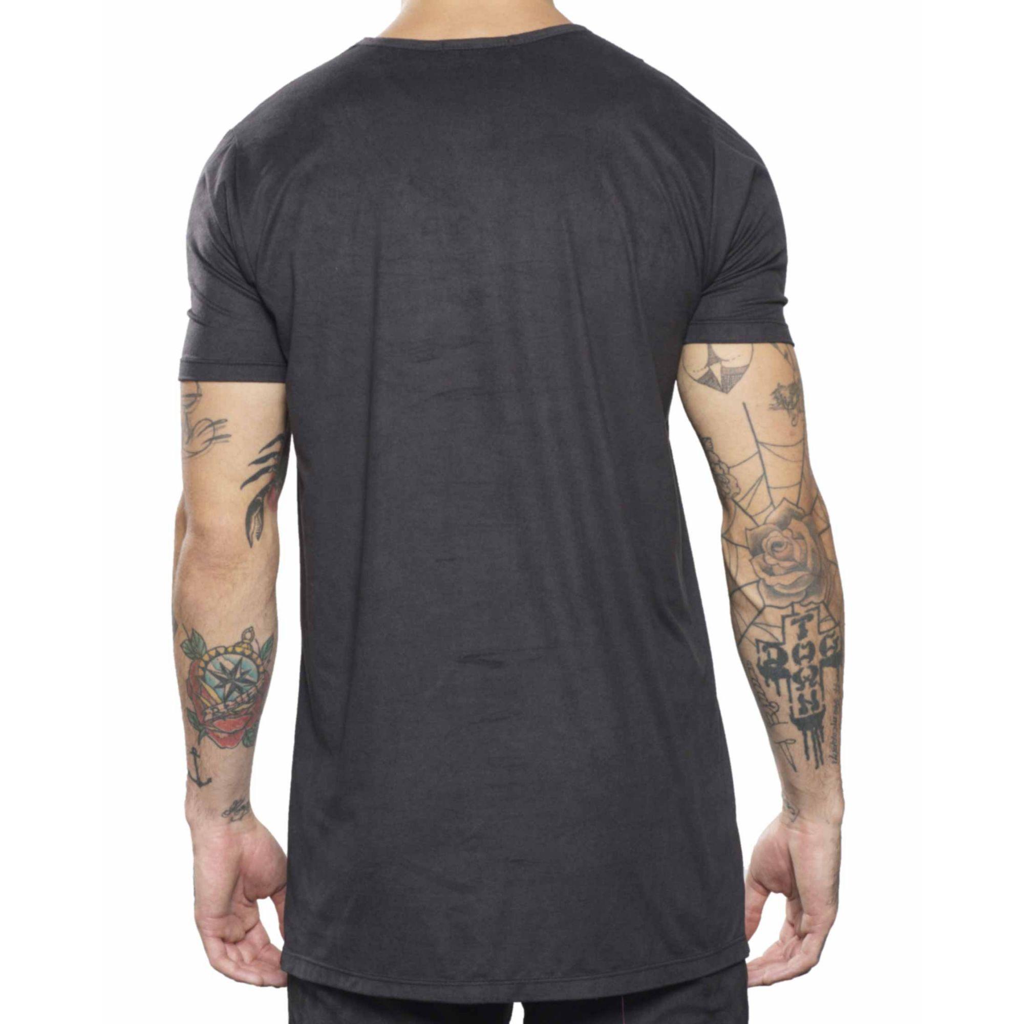 Camiseta Buh Fenda Black
