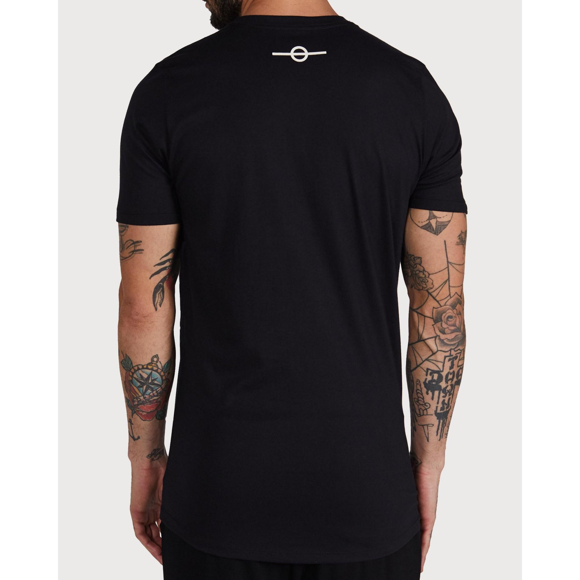 Camiseta Buh Fire Relevo Black