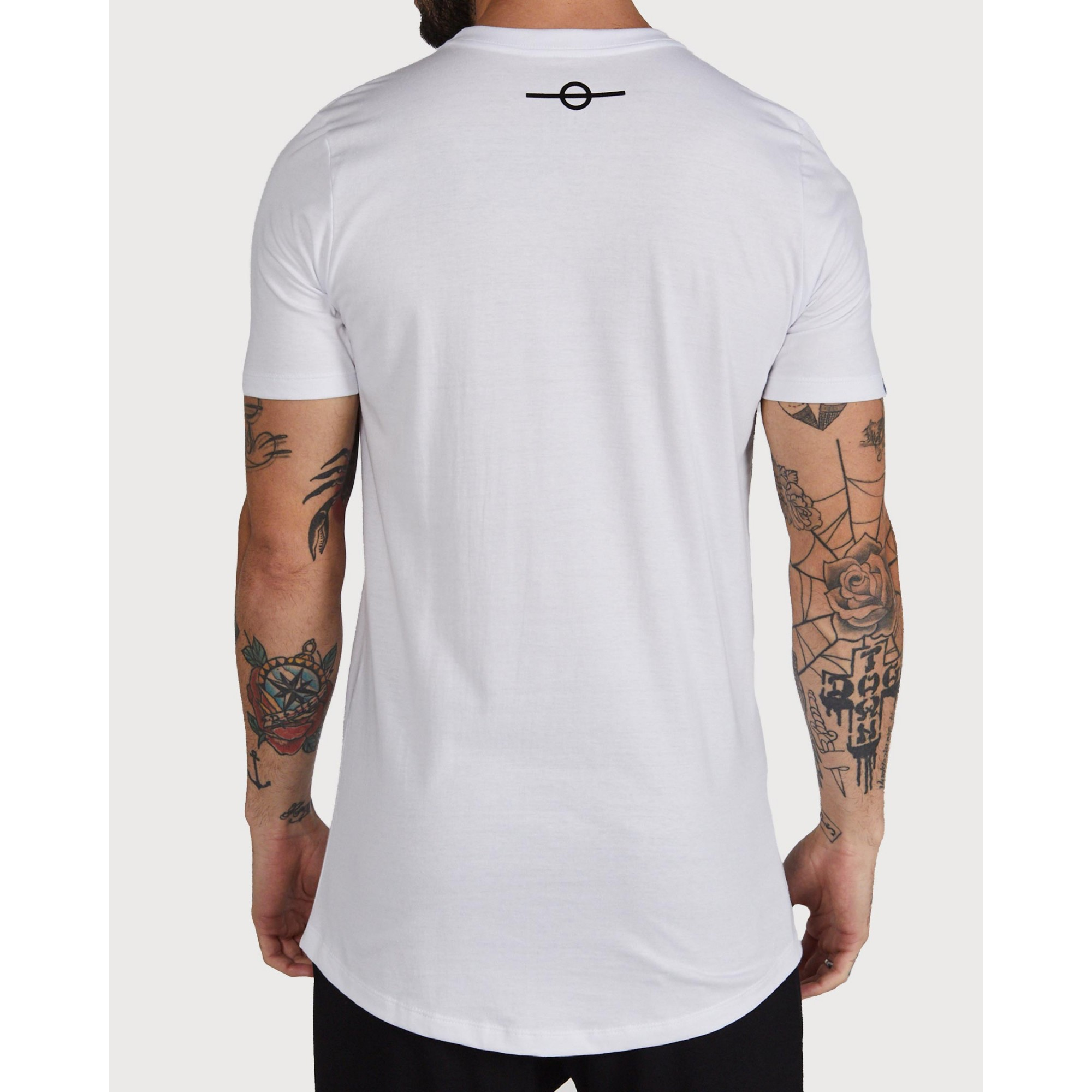 Camiseta Buh Fire Relevo White