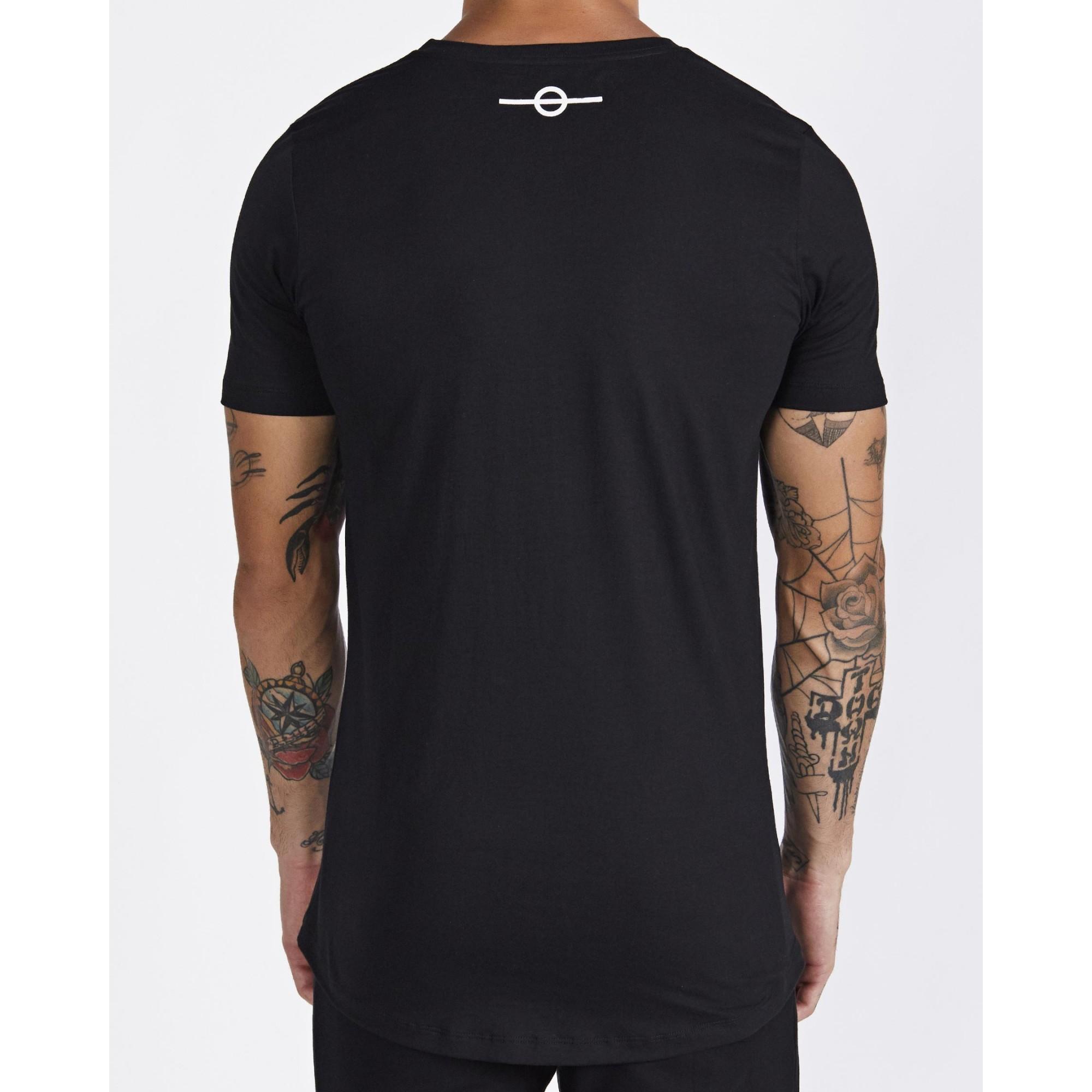 Camiseta Buh Fita Refletiva Black