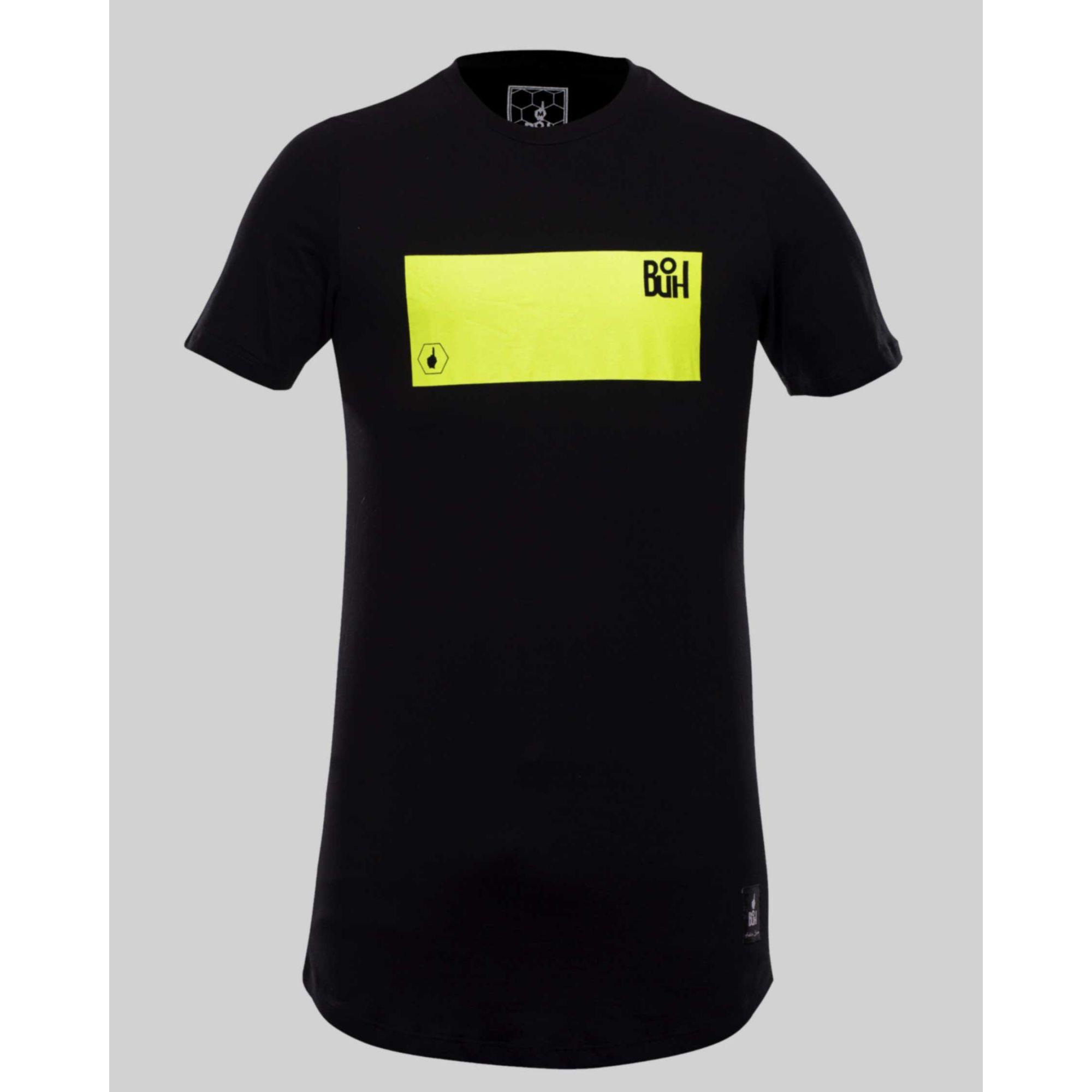 Camiseta Buh Fluor Square Black