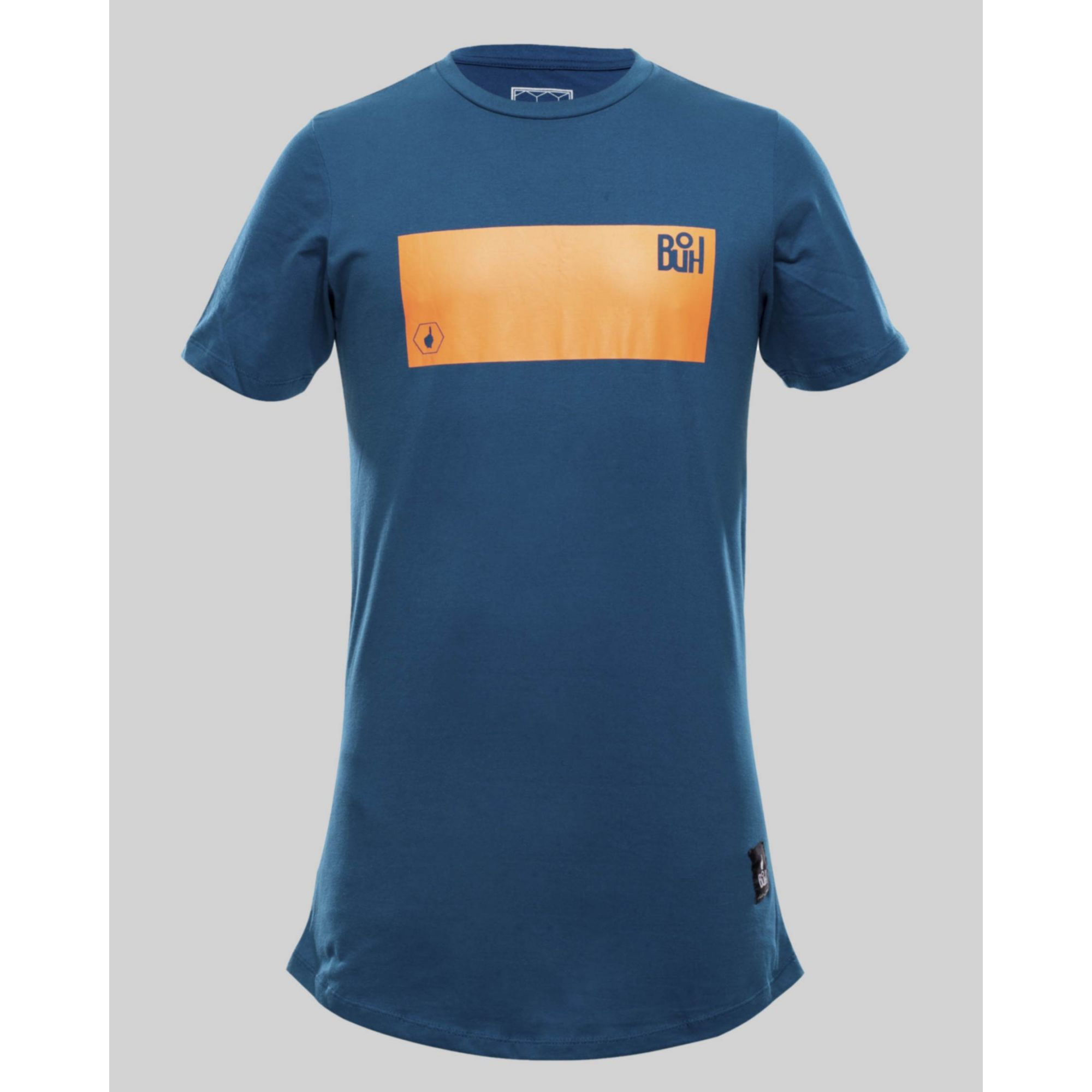 Camiseta Buh Fluor Square Blue