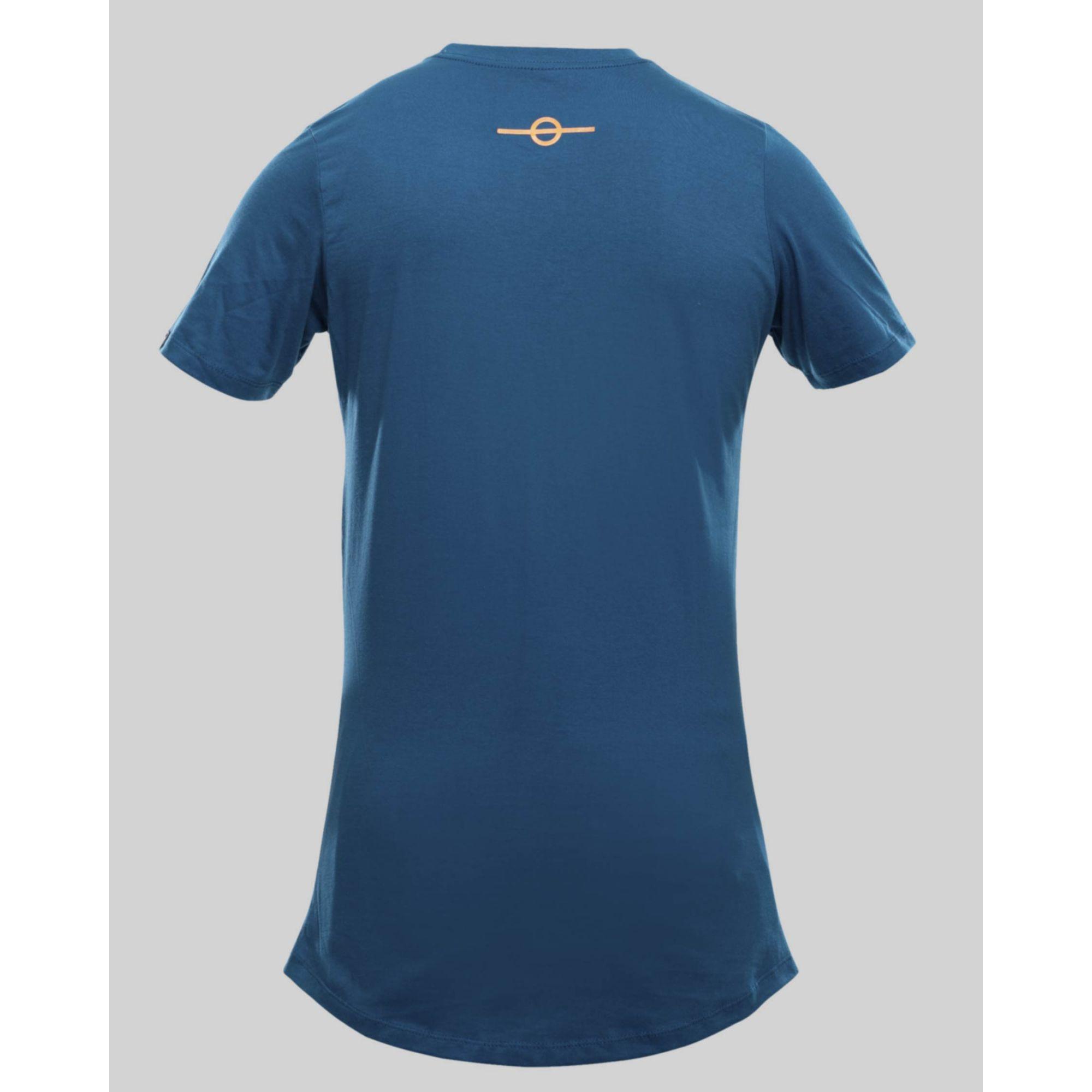 Camiseta Buh Fluor Square Blue