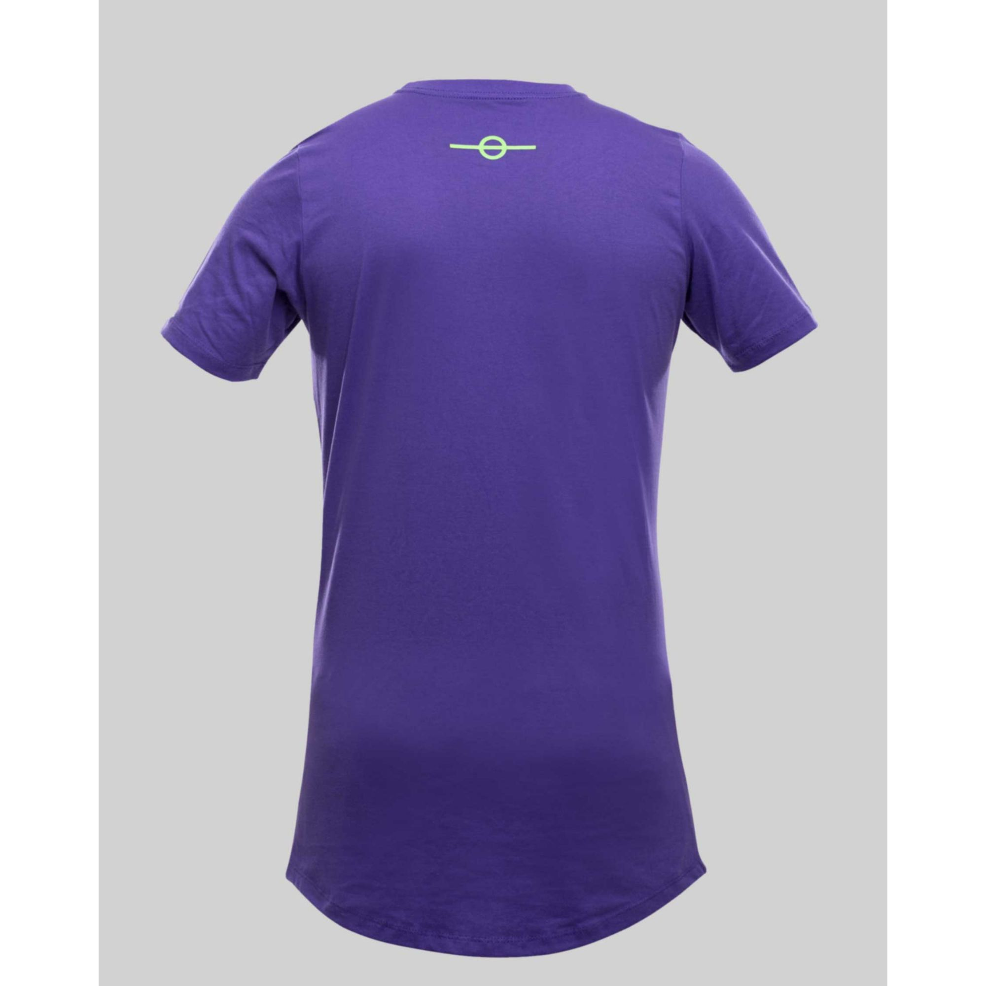 Camiseta Buh Fluor Square Purple