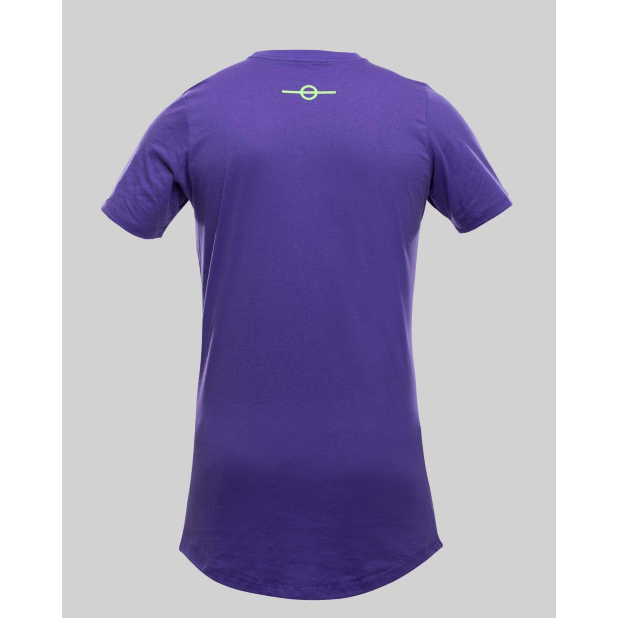 Camiseta Buh Fluor Square Purple