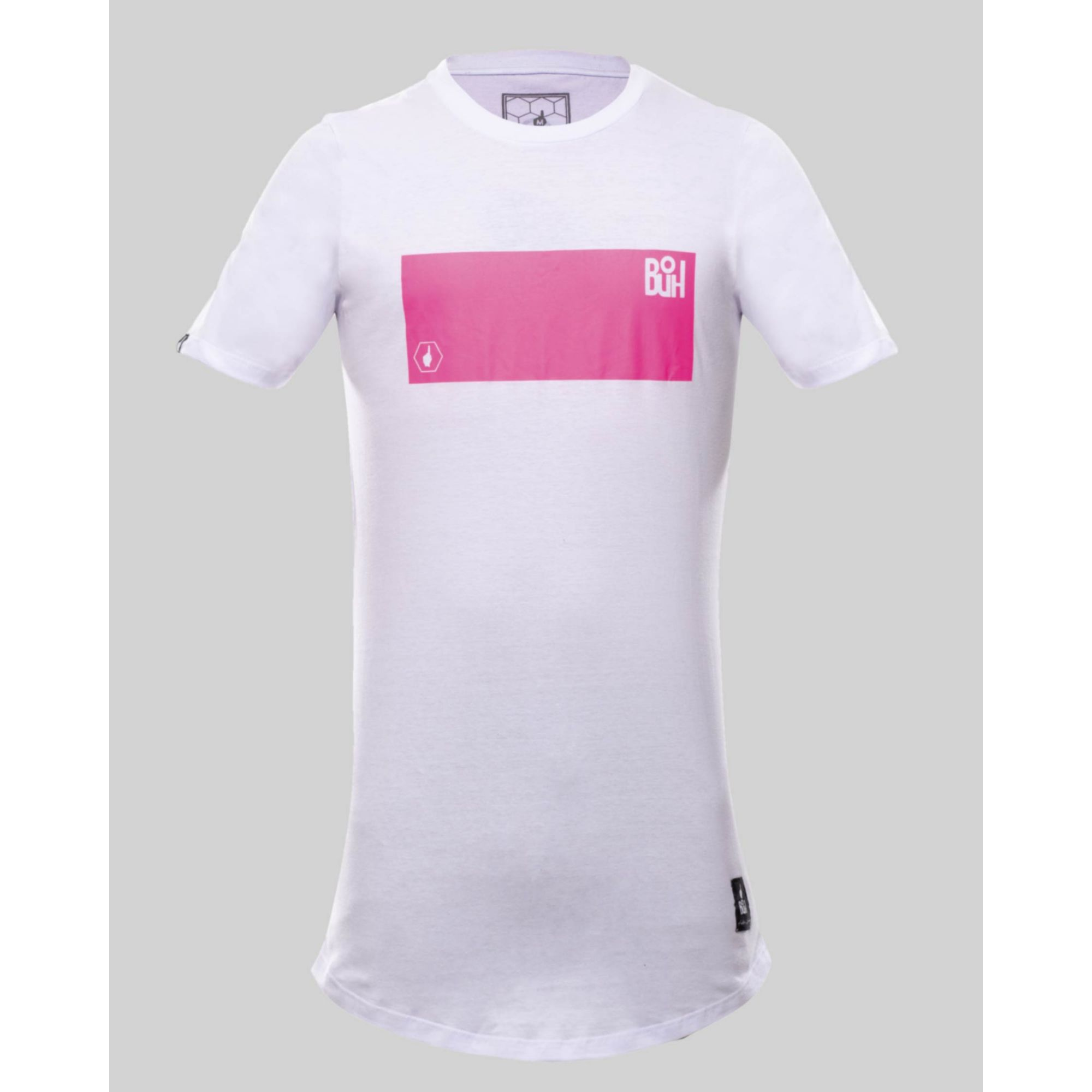 Camiseta Buh Fluor Square White