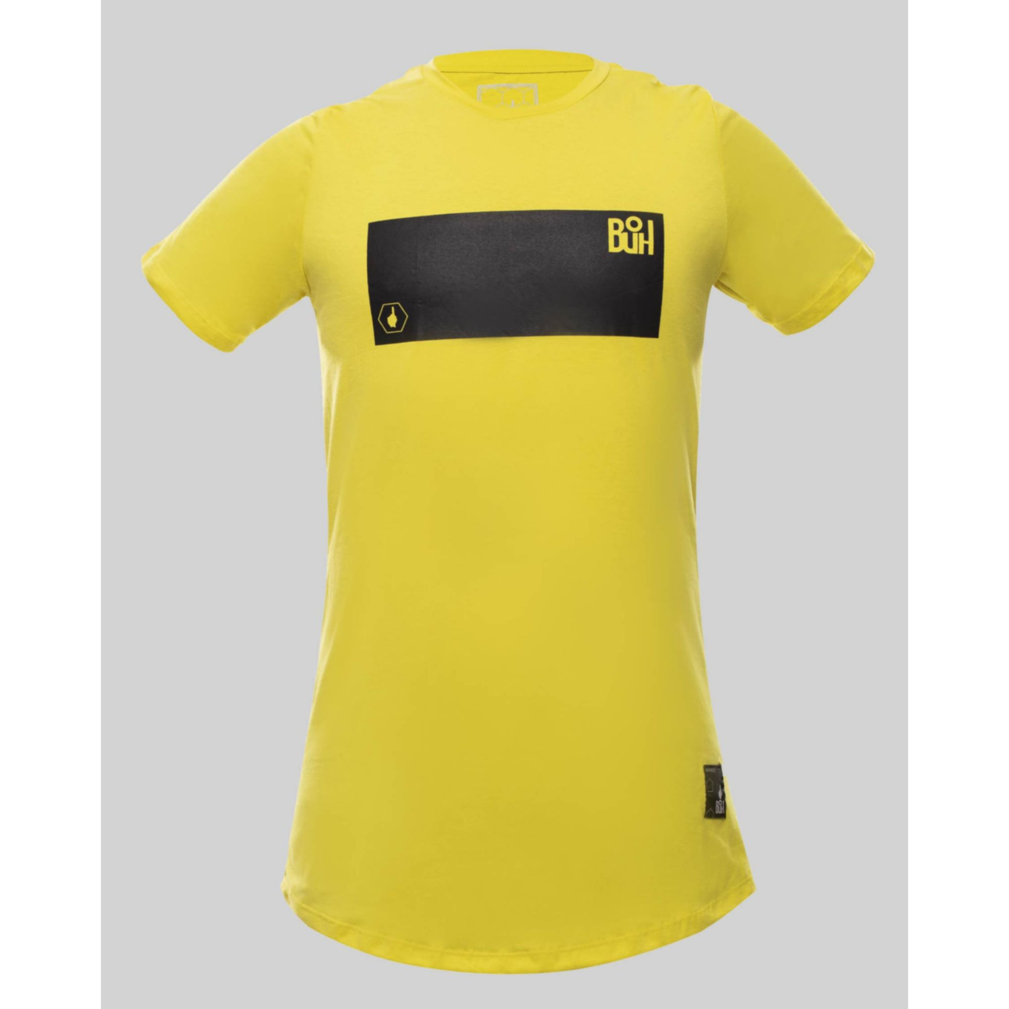 Camiseta Buh Fluor Square Yellow