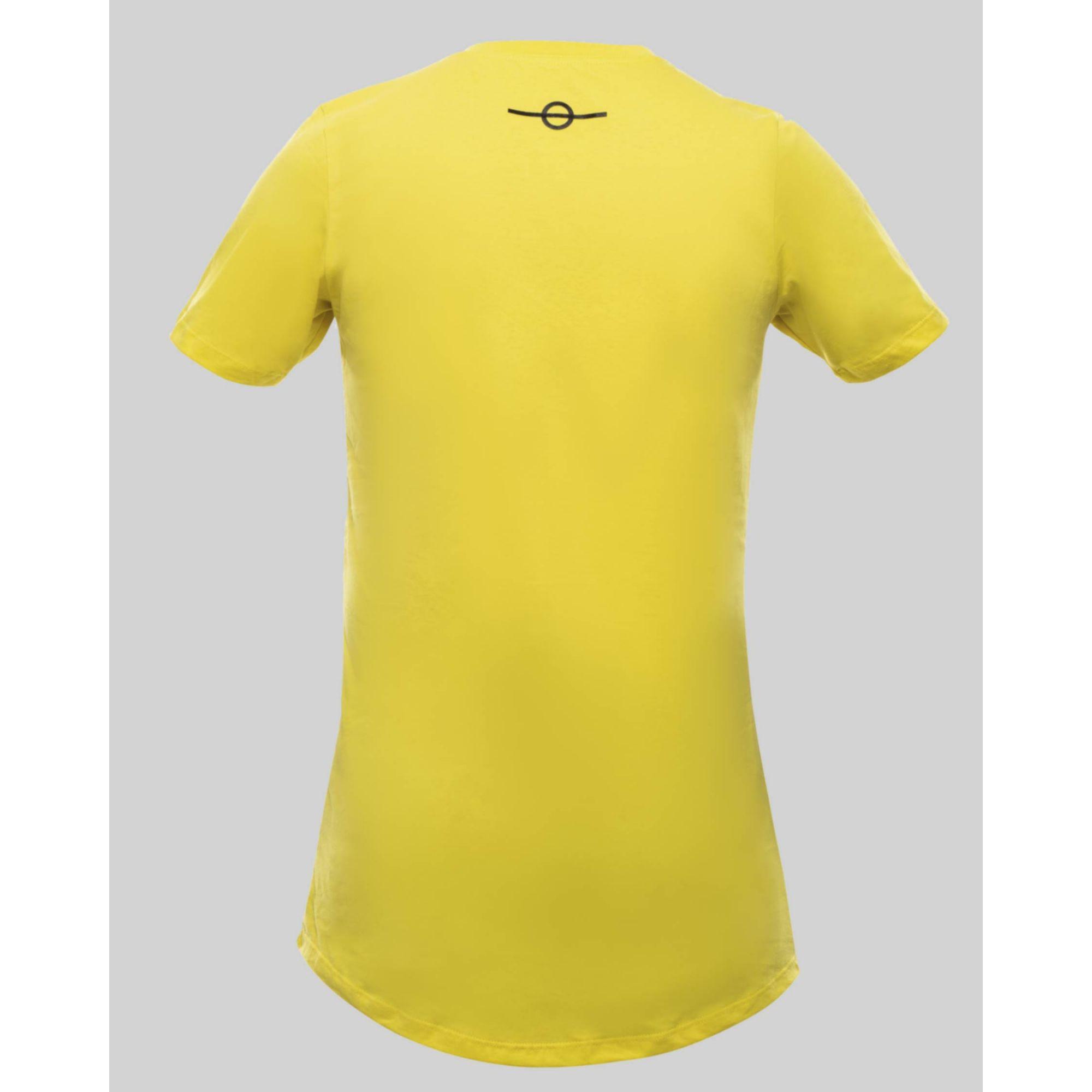 Camiseta Buh Fluor Square Yellow