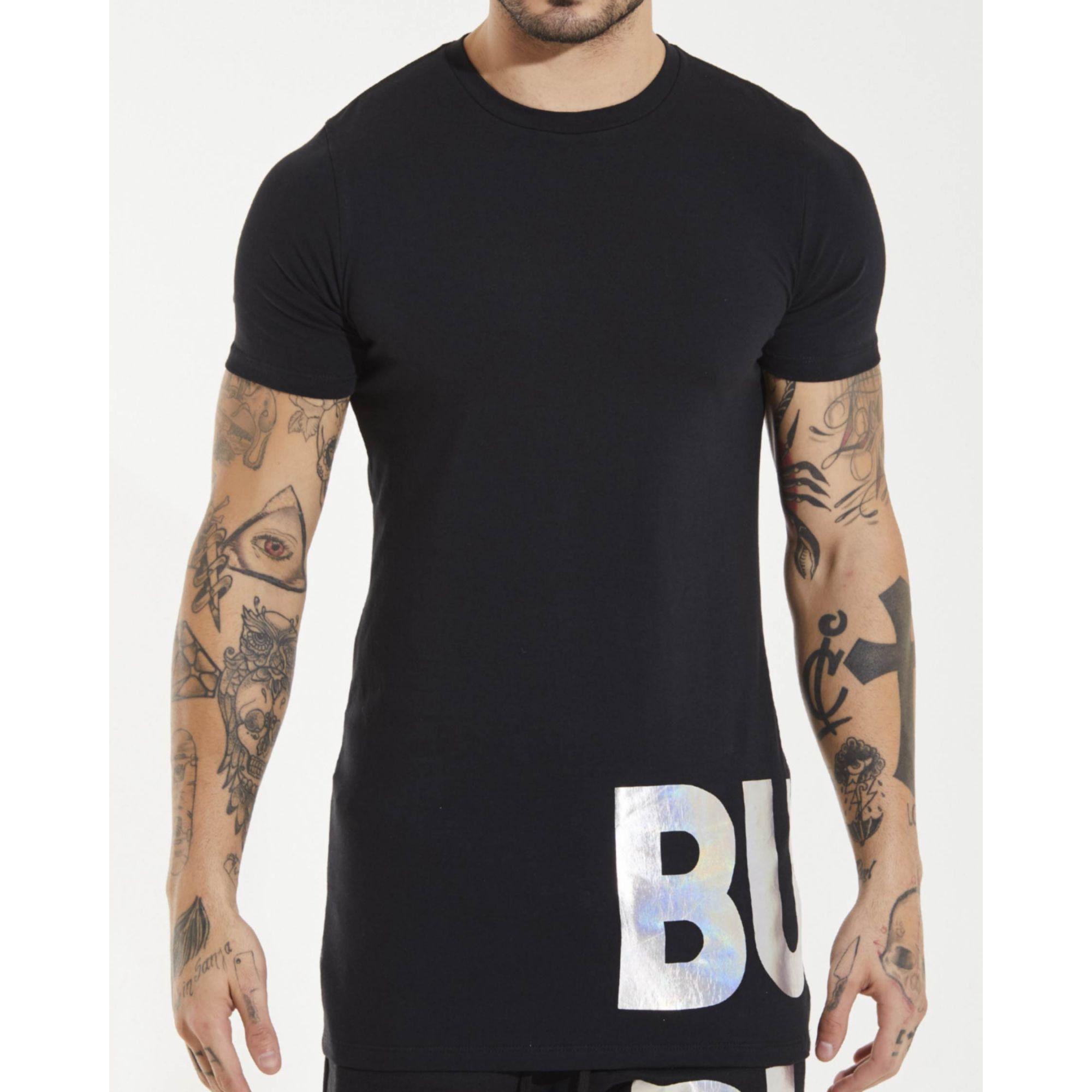 Camiseta Buh Foil Black