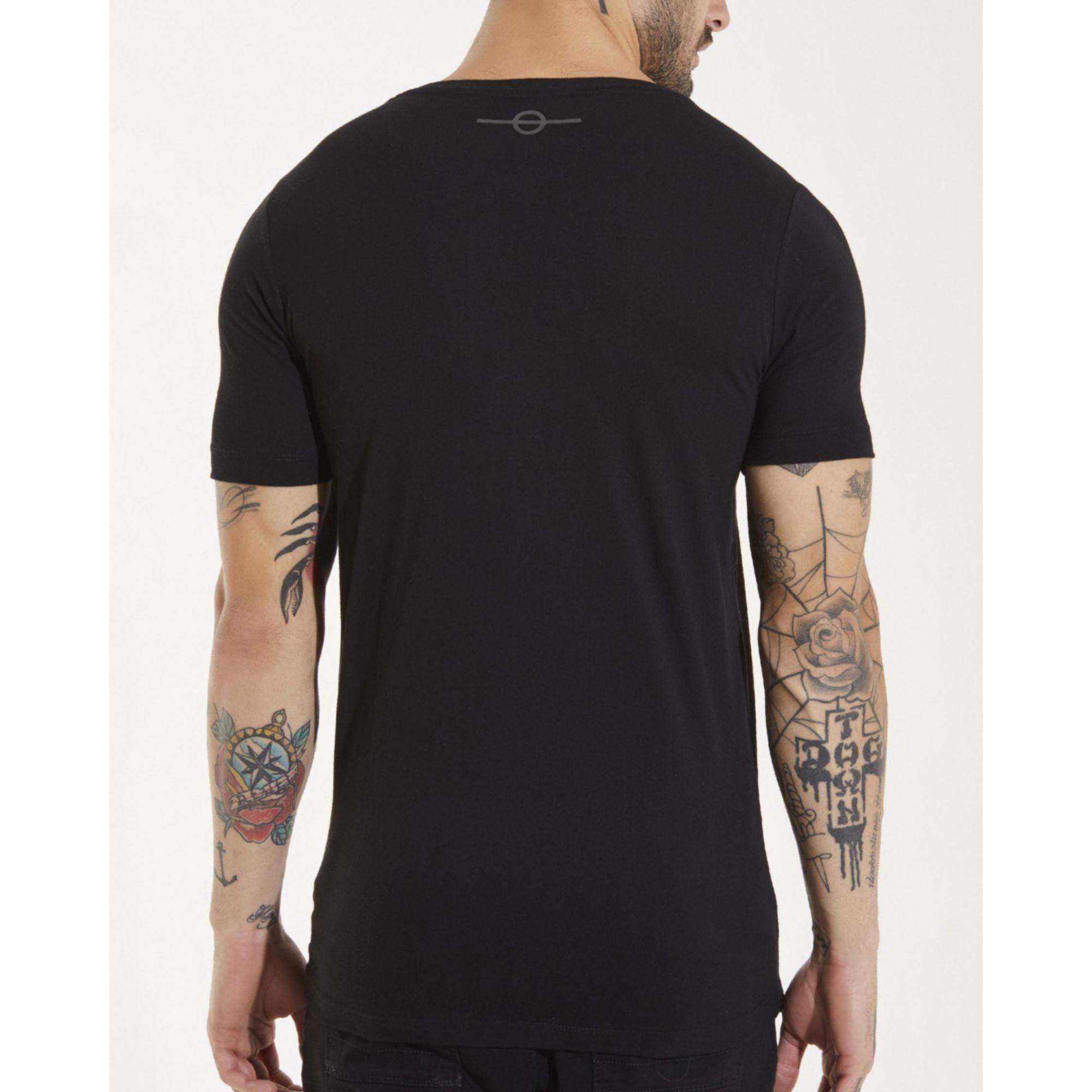 Camiseta Buh Foil Color Black
