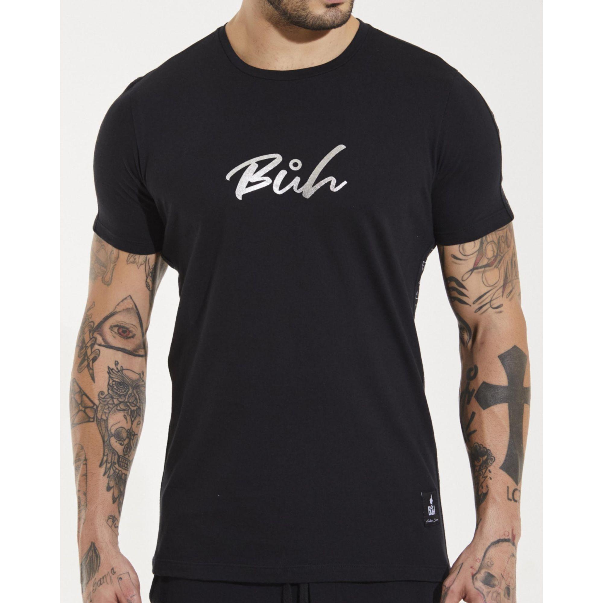Camiseta Buh Foil Elementos Black