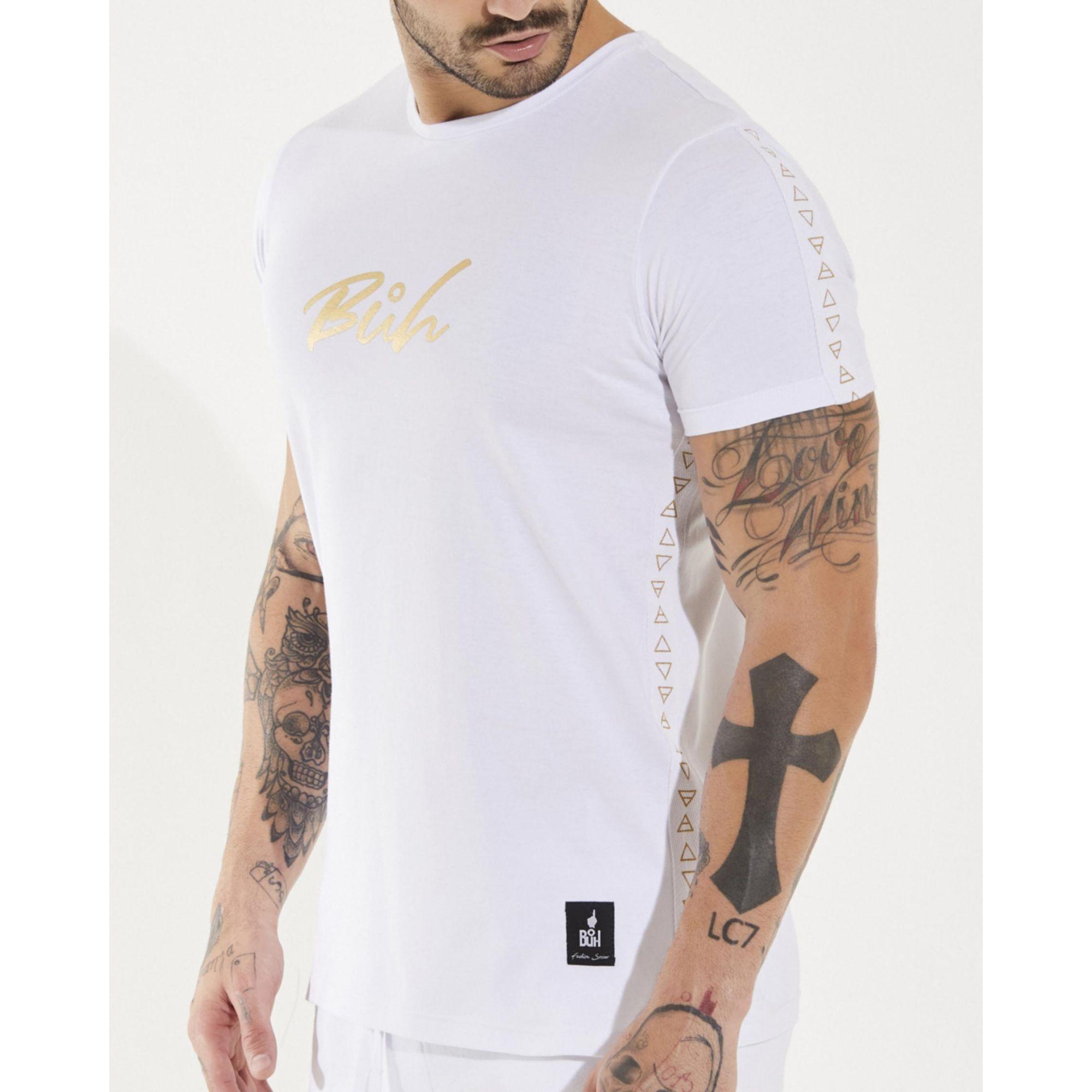 Camiseta Buh Foil Elementos White