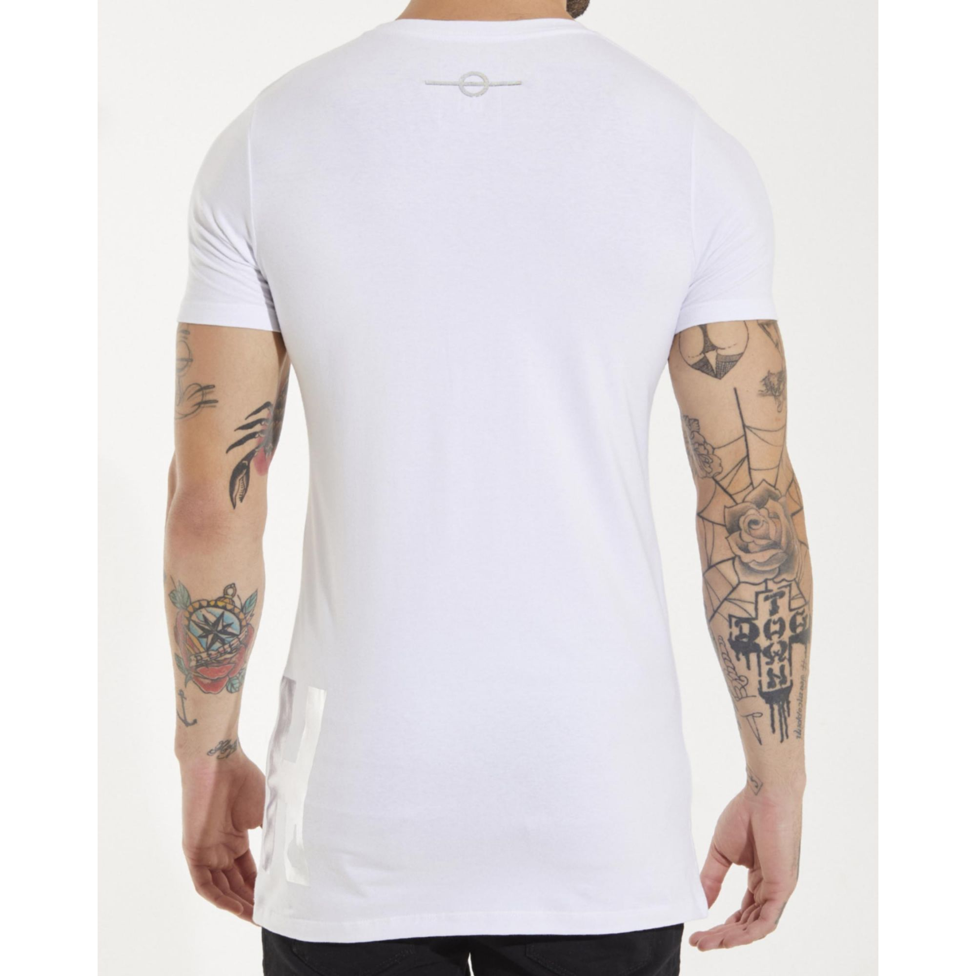 Camiseta Buh Foil White