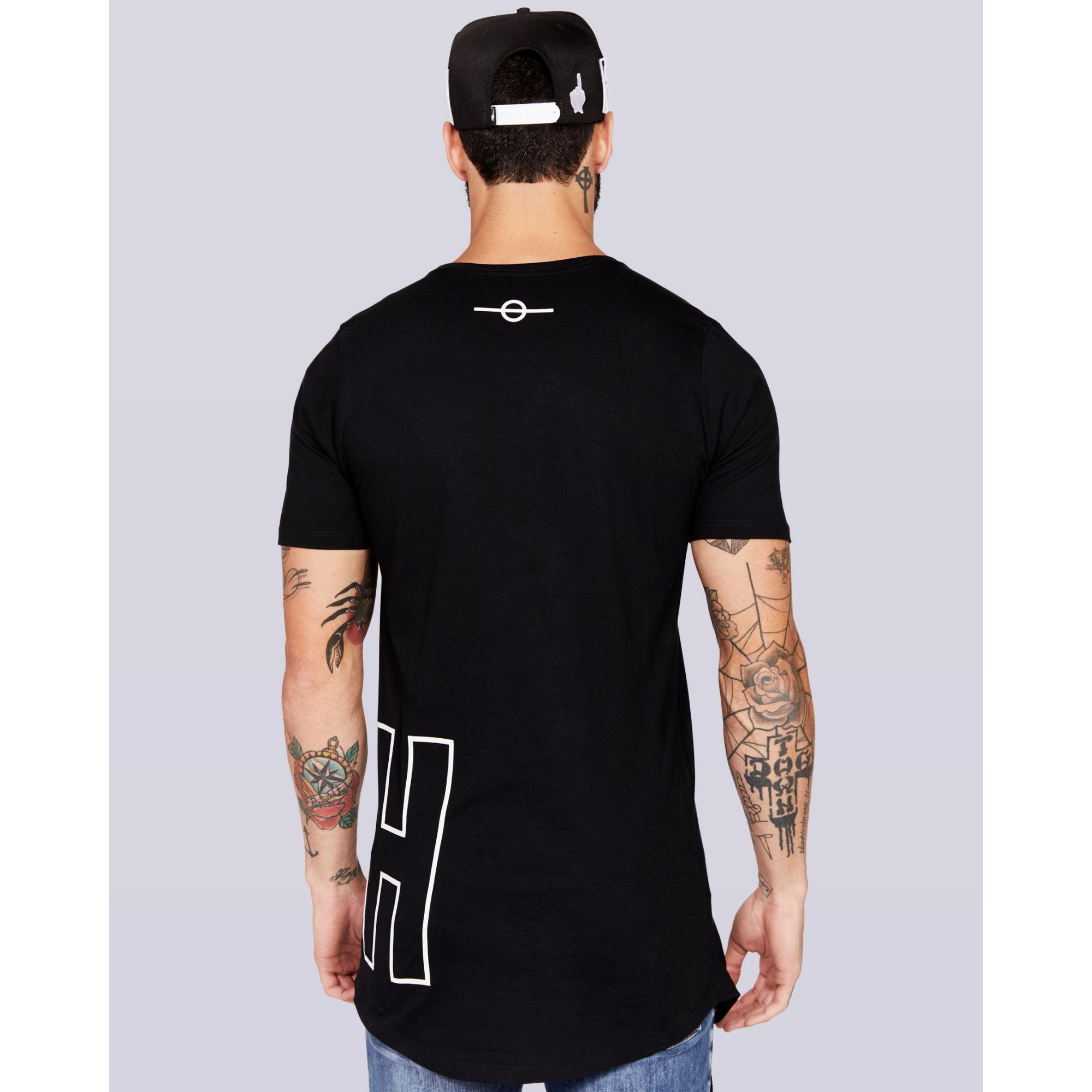 Camiseta Buh Front And Back Black