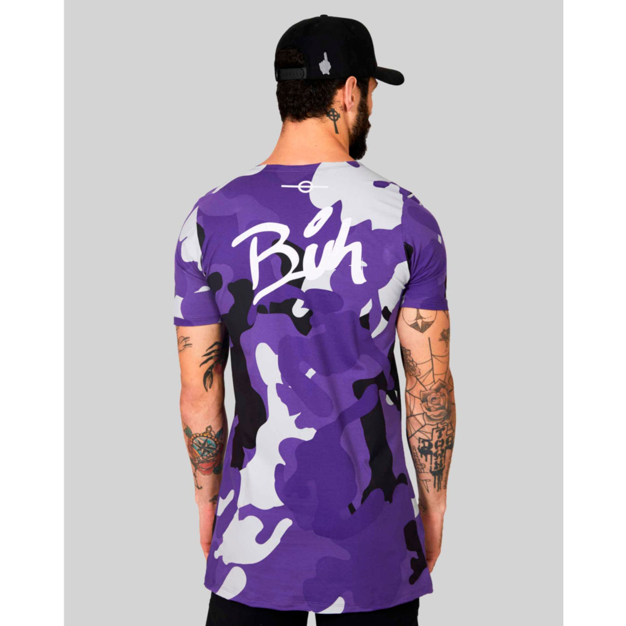 Camiseta Buh Full Camo Purple