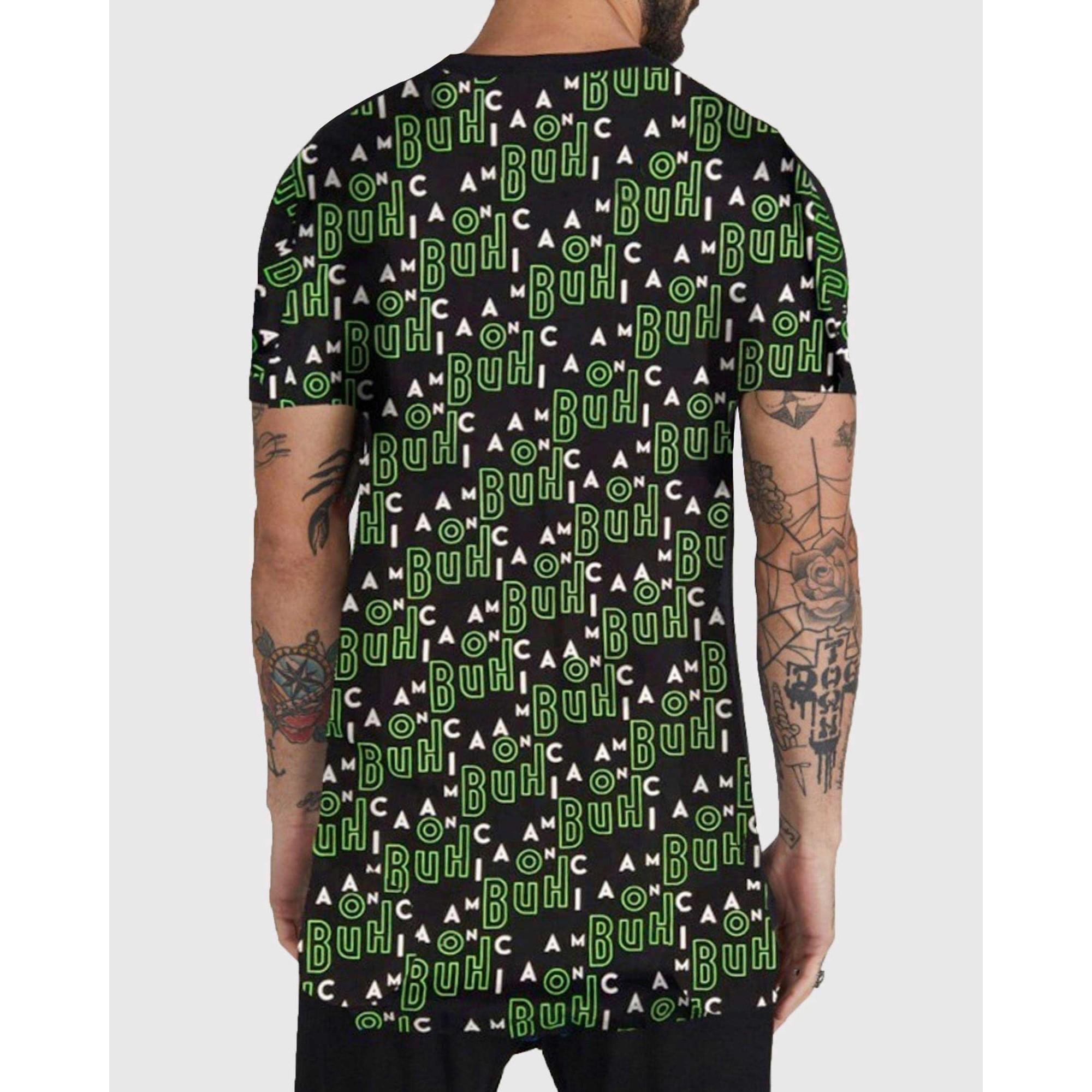 Camiseta Buh Full Maniac Black