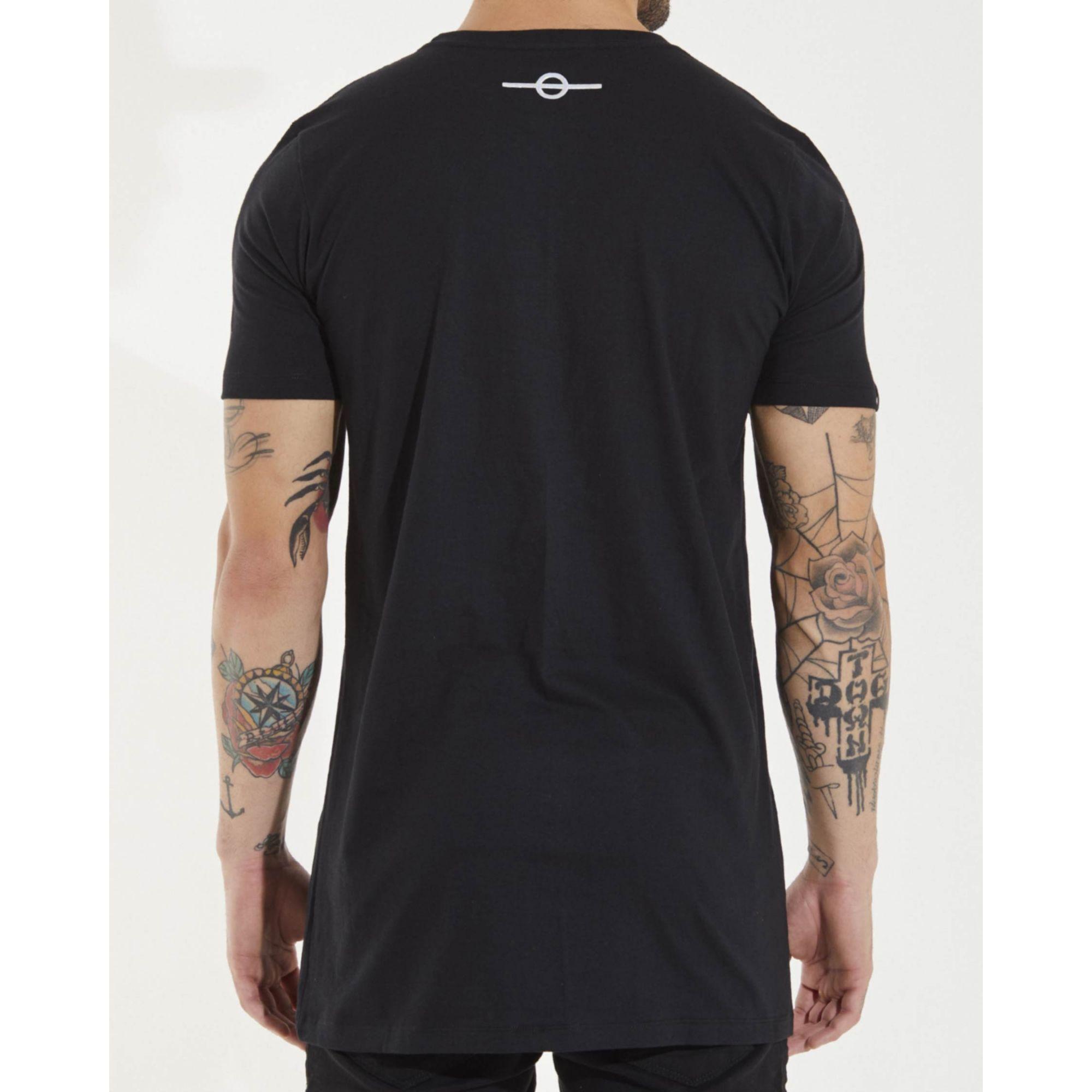 Camiseta Buh Furta Square Black